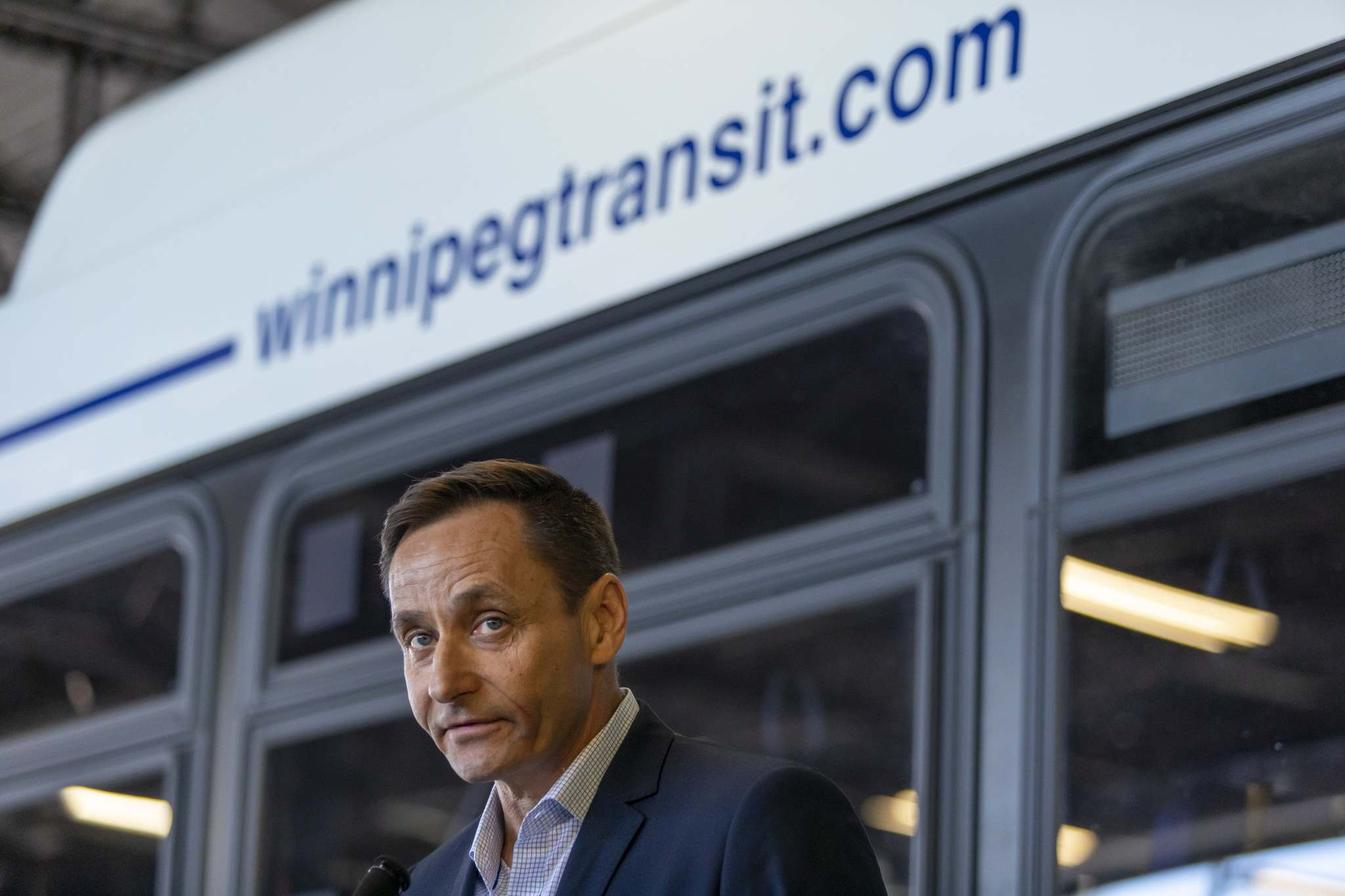 """The most common would be more serious types of incidents like assaults,"" Winnipeg Transit operations manager Randy Tonnellier said. (Sasha Sefter / Free Press files)"