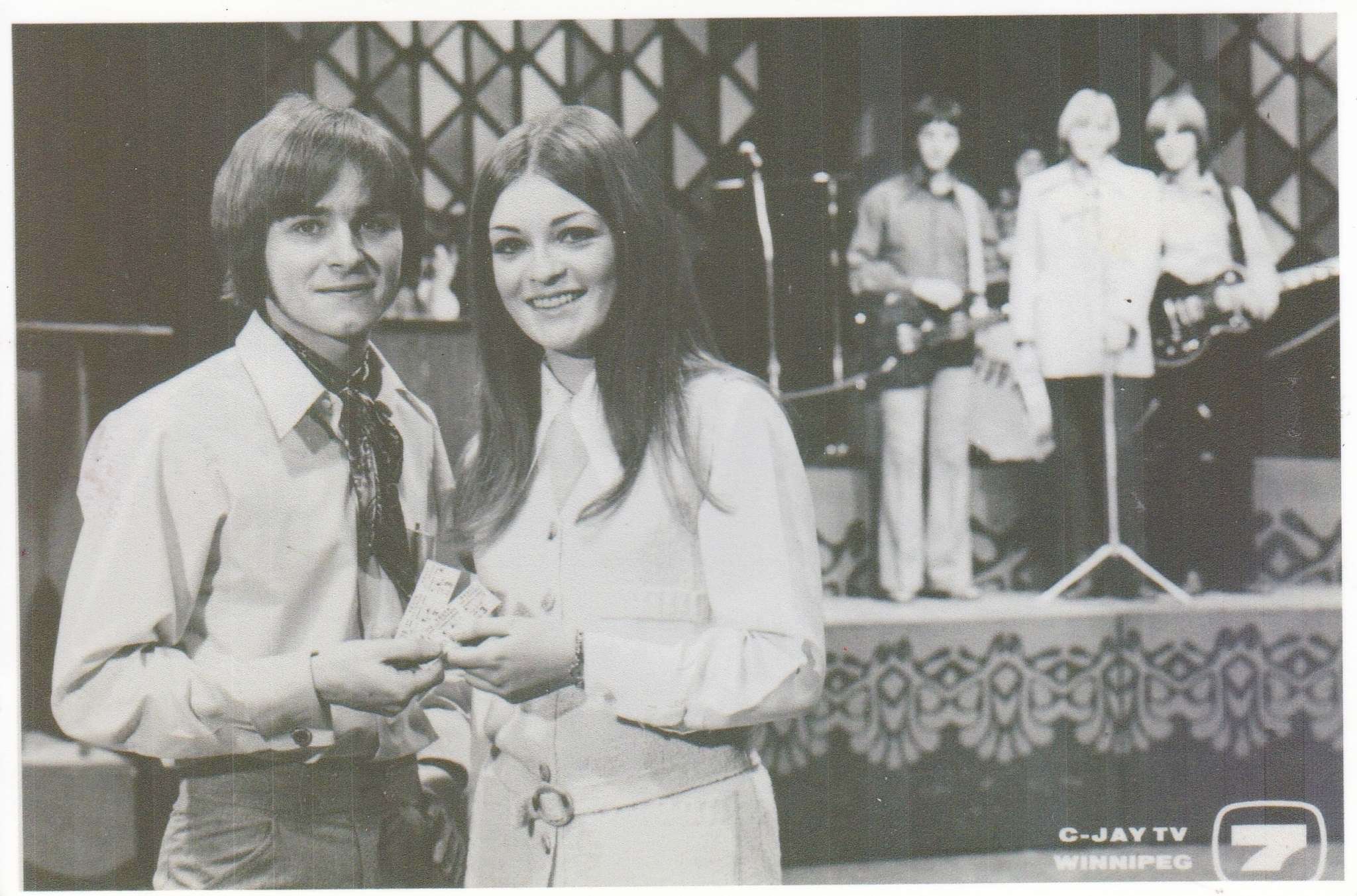 Gregorash, at 19, began co-hosting a show called Young As You Are on CJAY-TV in Winnipeg. (Supplied photo)