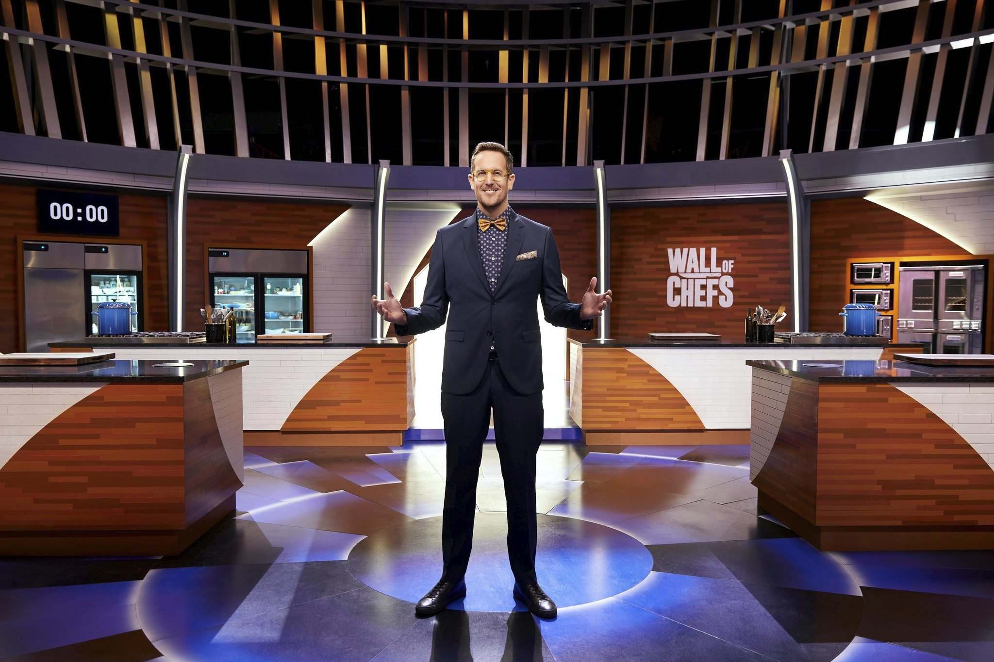 CORUS ENTERTAINMENT</p><p>Host Noah Cappe on the set of Wall of Chefs.</p>