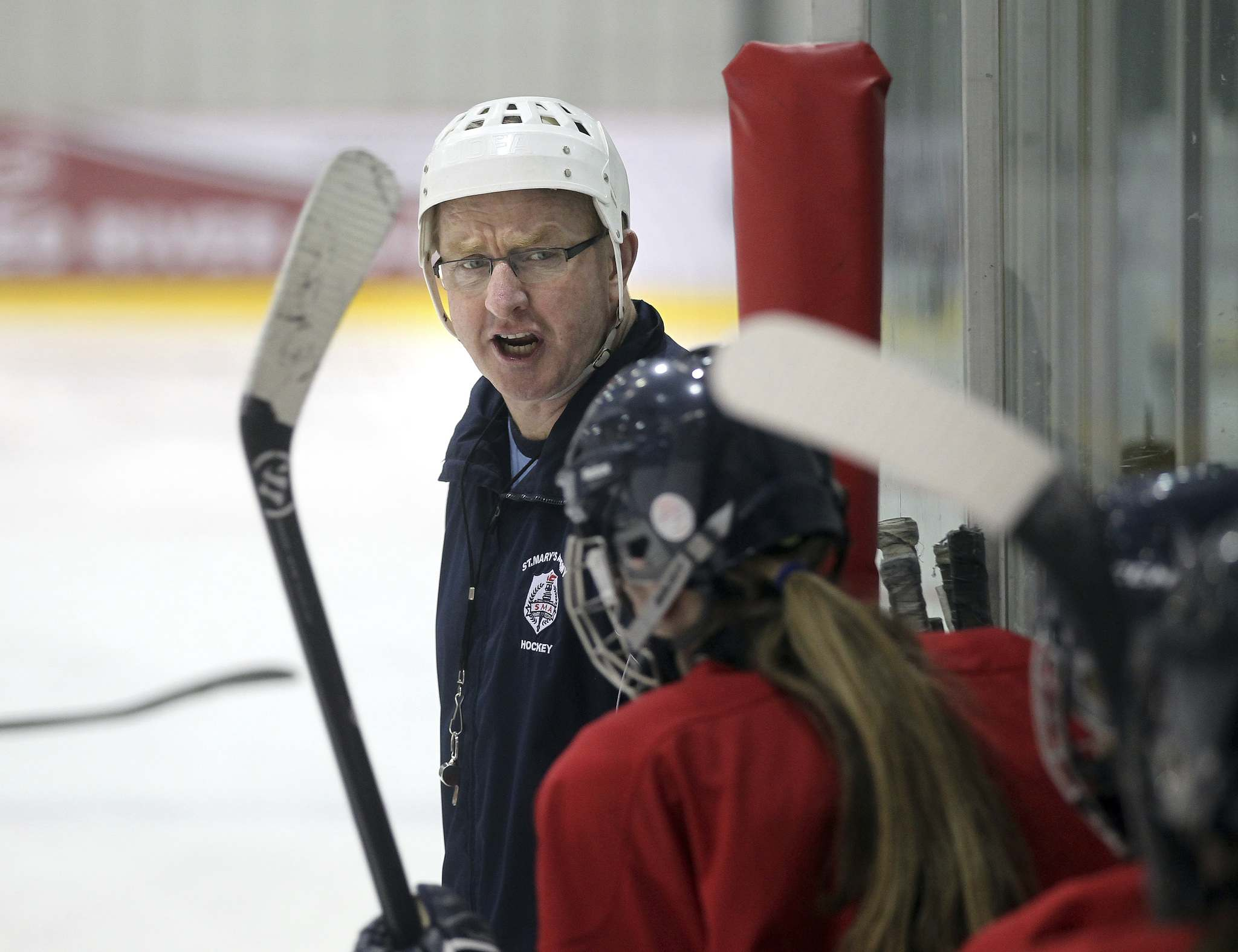 Long-time St. Mary's head coach Larry Bumstead says the female game is evolving. (Phil Hossack / Winnipeg Free Press files)