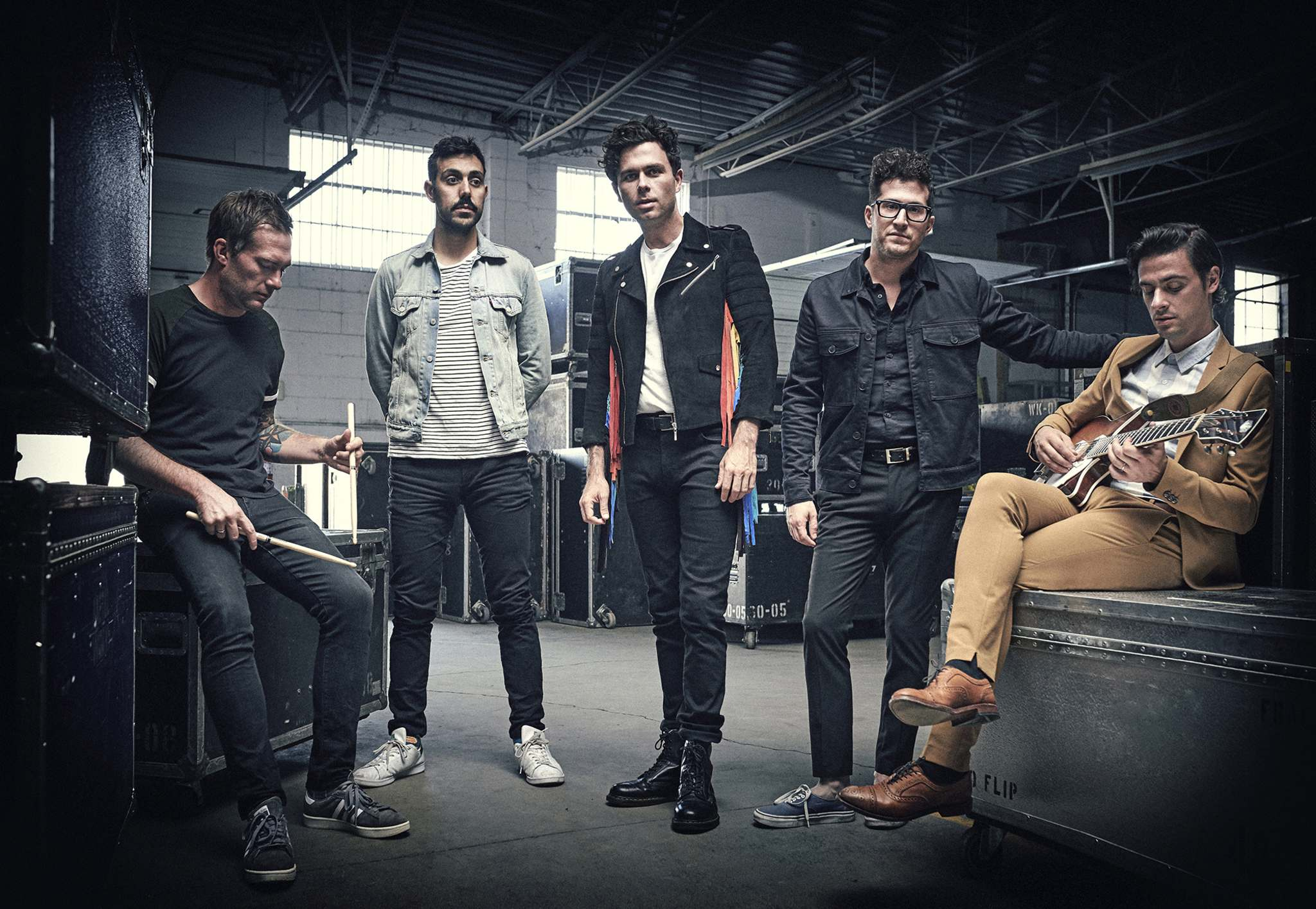 Changes in the newspaper industry impact workhorse Canadian touring bands such as, say, the Arkells, who rely on coverage from the local alt weekly or daily newspaper in the cities on their tour.  (Matt Barnes photo)</p>