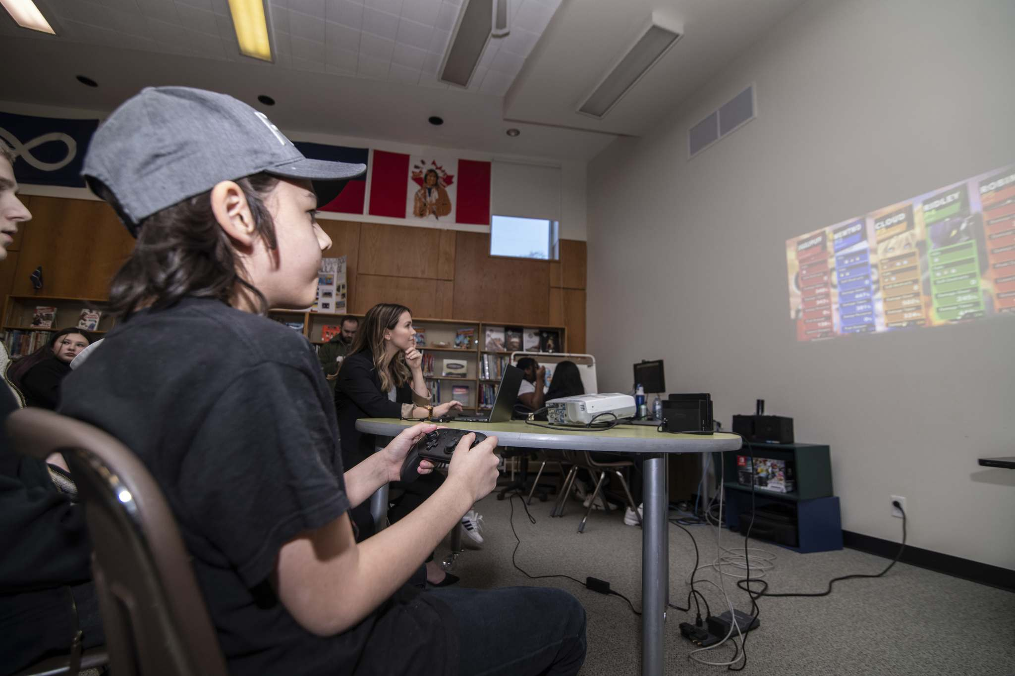 Mike Sudoma / Winnipeg Free Press</p><p>Archwood student, Aiden Elk, warms up with fellow students in as he gets ready to compete against opposing students in Albuquerque.</p>