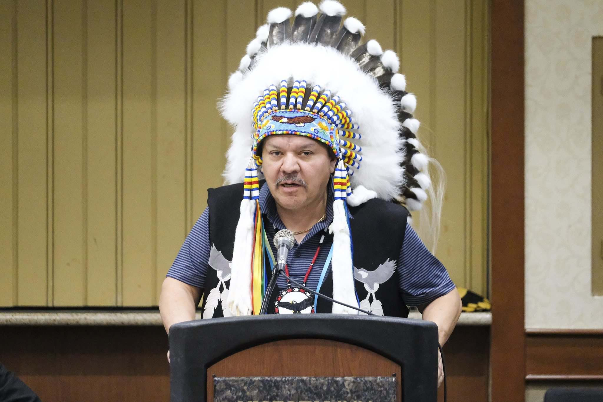 Daniel Crump / Winnipeg Free Press</p><p>Lake Manitoba First Nation Chief Cornell McLean says the Interlake Reserves Tribal Council has repeatedly asked to meet with the province about the planned Lake Manitoba and Lake St. Martin flood channels.</p></p>