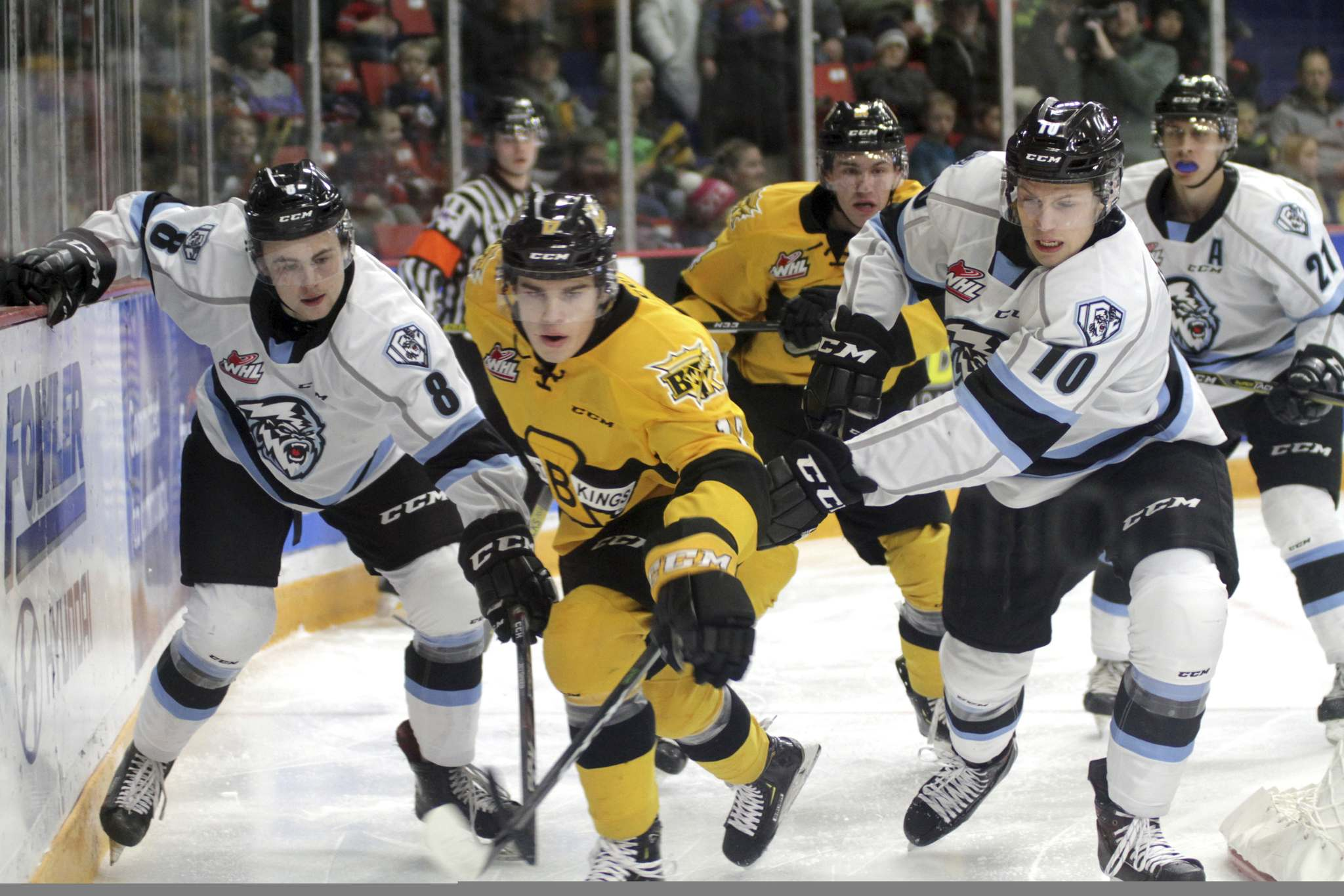(Thomas Friesen/The Brandon Sun)</p><p>The Brandon Wheat Kings and the Winnipeg Ice will be taking part in the WHL's inaugural U.S. Prospects Draft on March 25.</p>