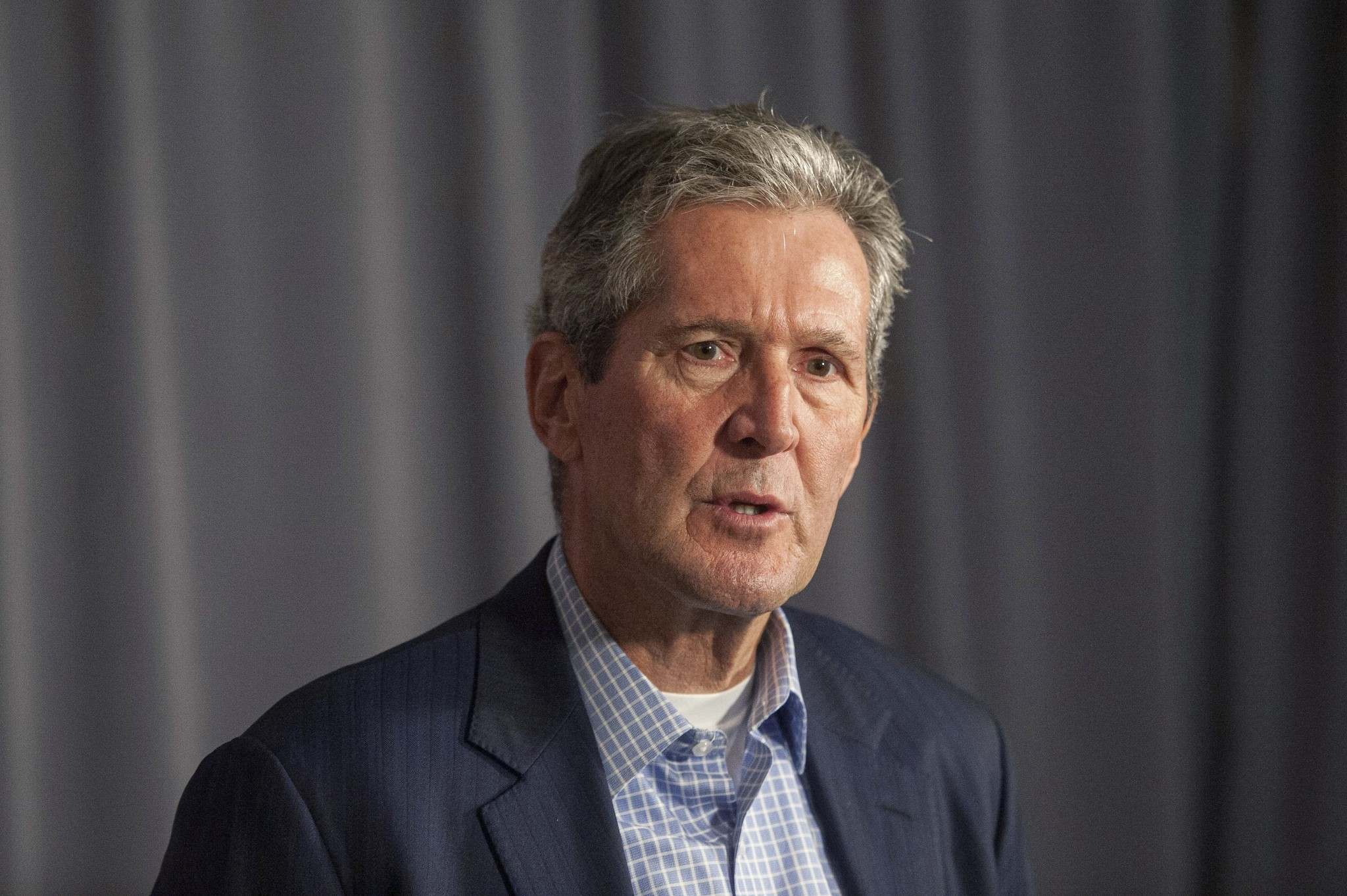 THE CANADIAN PRESS/Mike Sudoma</p><p>Manitoba Premier, Brian Pallister's government intends to reopen talks with the federal government on the carbon tax.</p>