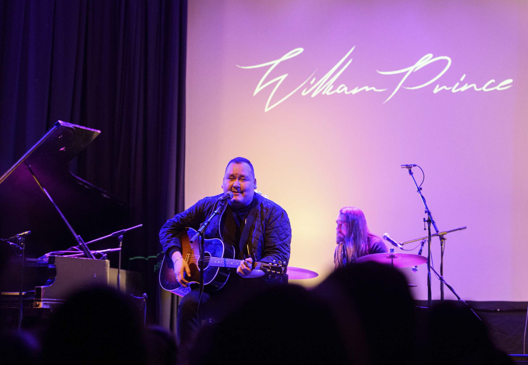 MIKE SUDOMA / WINNIPEG FREE PRESS</p><p>Winnipeg musician William Prince, performs for fans during his third consecutive sold out show at the West End Cultural Centre Sunday afternoon.</p>