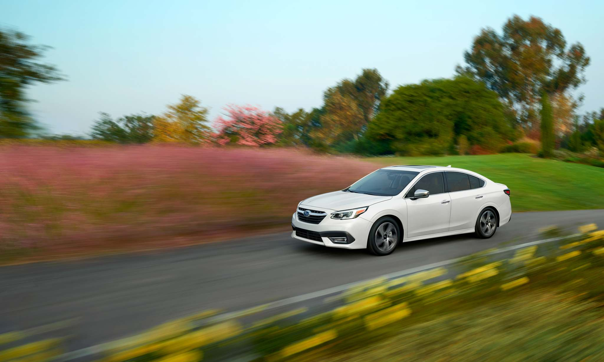 Subaru</p><p>The 2020 Subaru Legacy GT offers a spacious cabin, improved fuel efficiency and handsome styling. </p>