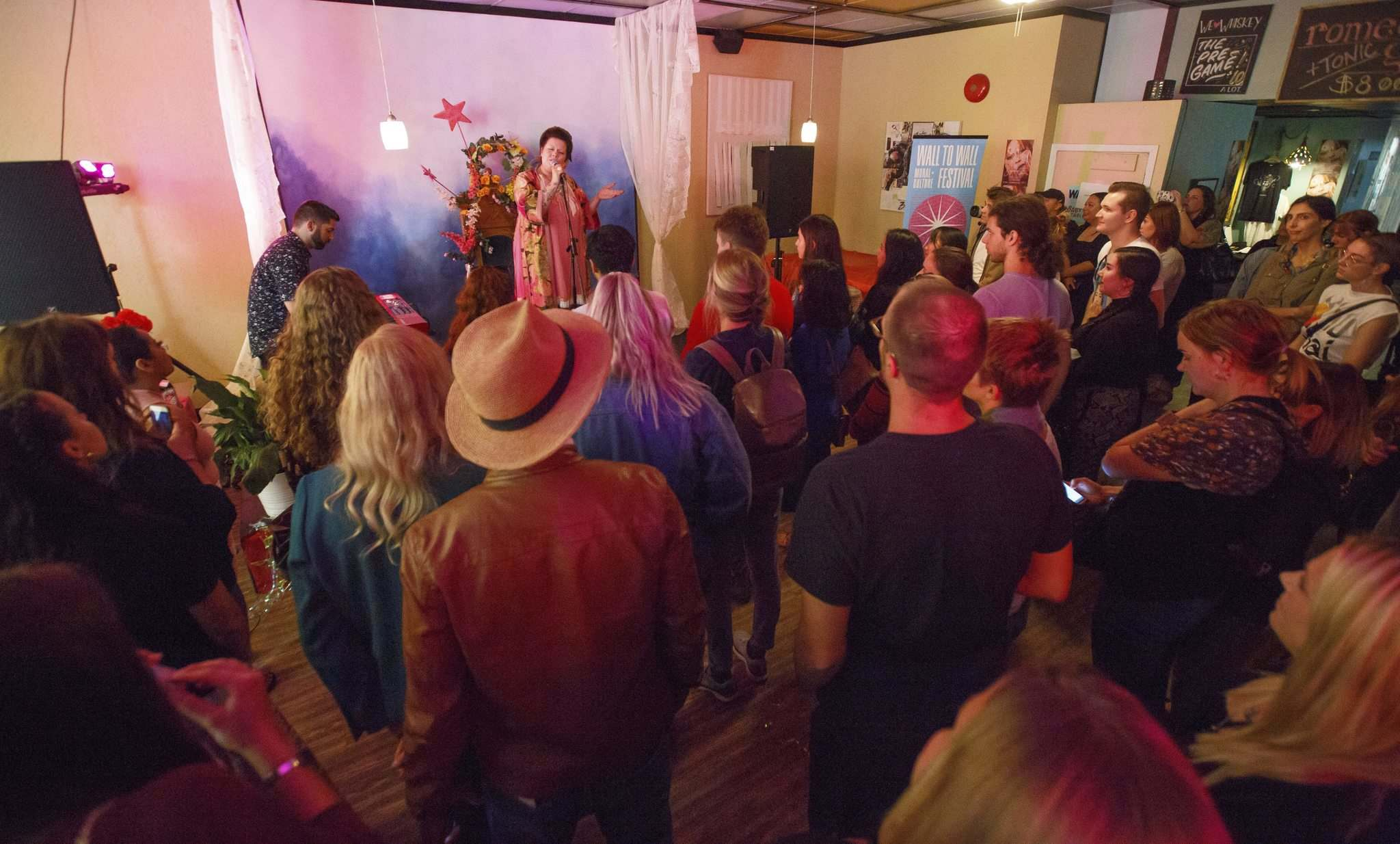 Begonia performs at a listening party for her album Fear at the Tallest Poppy restaurant last year. The record went on to top Canada's college radio chart for 10 weeks running. (Mike Deal / Free Press files)