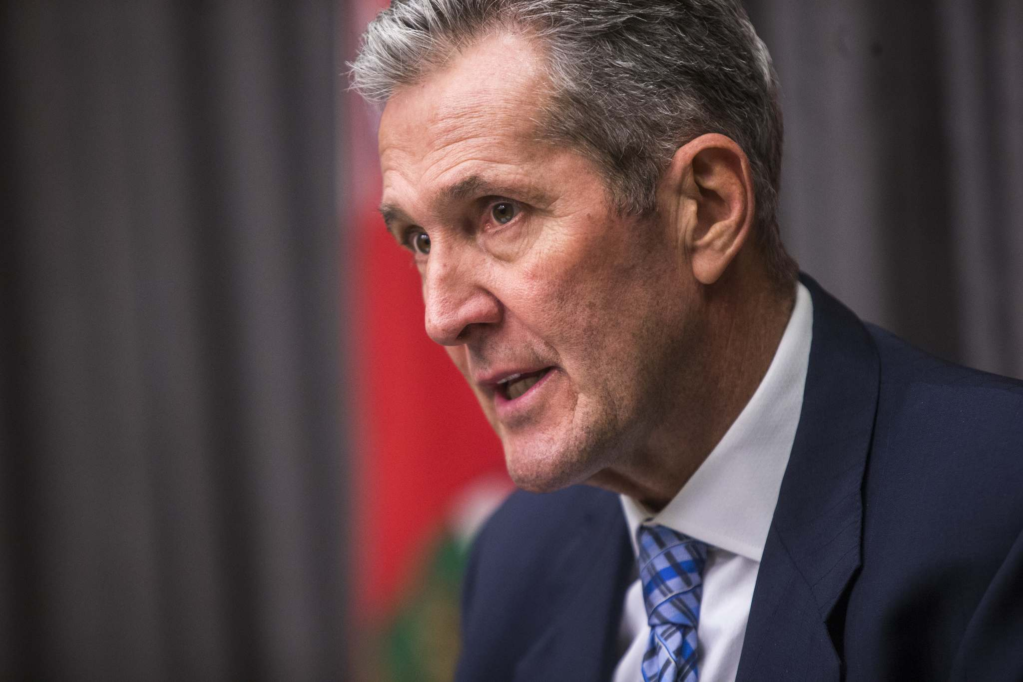 MIKAELA MACKENZIE / WINNIPEG FREE PRESS FILES</p><p>Premier Brian Pallister has rejected calls for more dialogue with protesters.</p>
