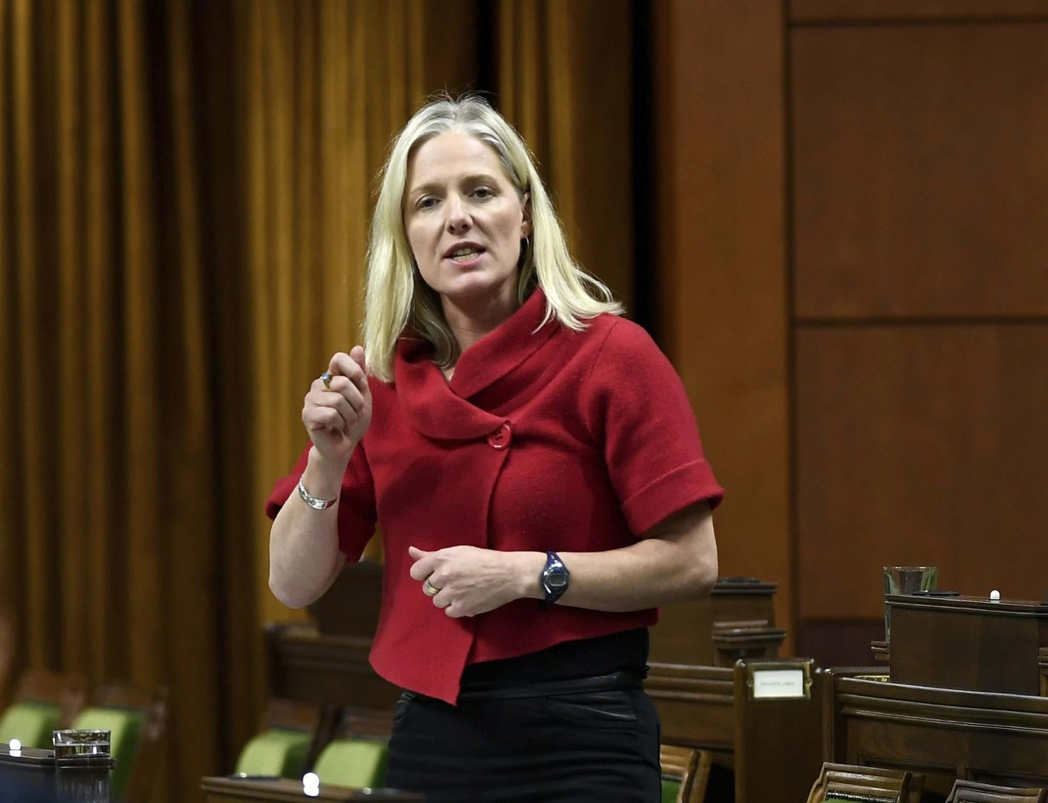 Former Environment Minister Catherine McKenna approved three Manitoba projects.(Justin Tang / The Canadian Press files)</p>
