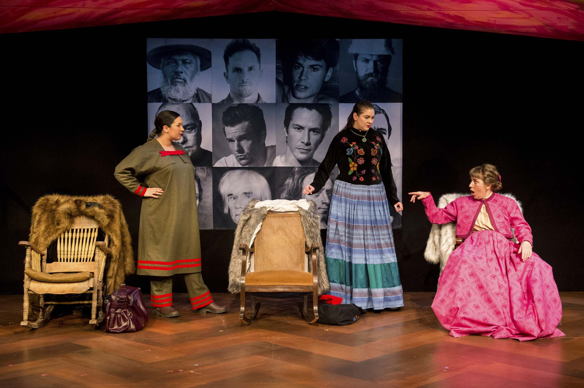 Winnipeg playwright Frances Koncan puts 21st-century slang in the mouths of 19th-century women as they navigate the rapidly changing world of the Canadian fur trade — and talk about boys. (Dylan Hewlett photo)