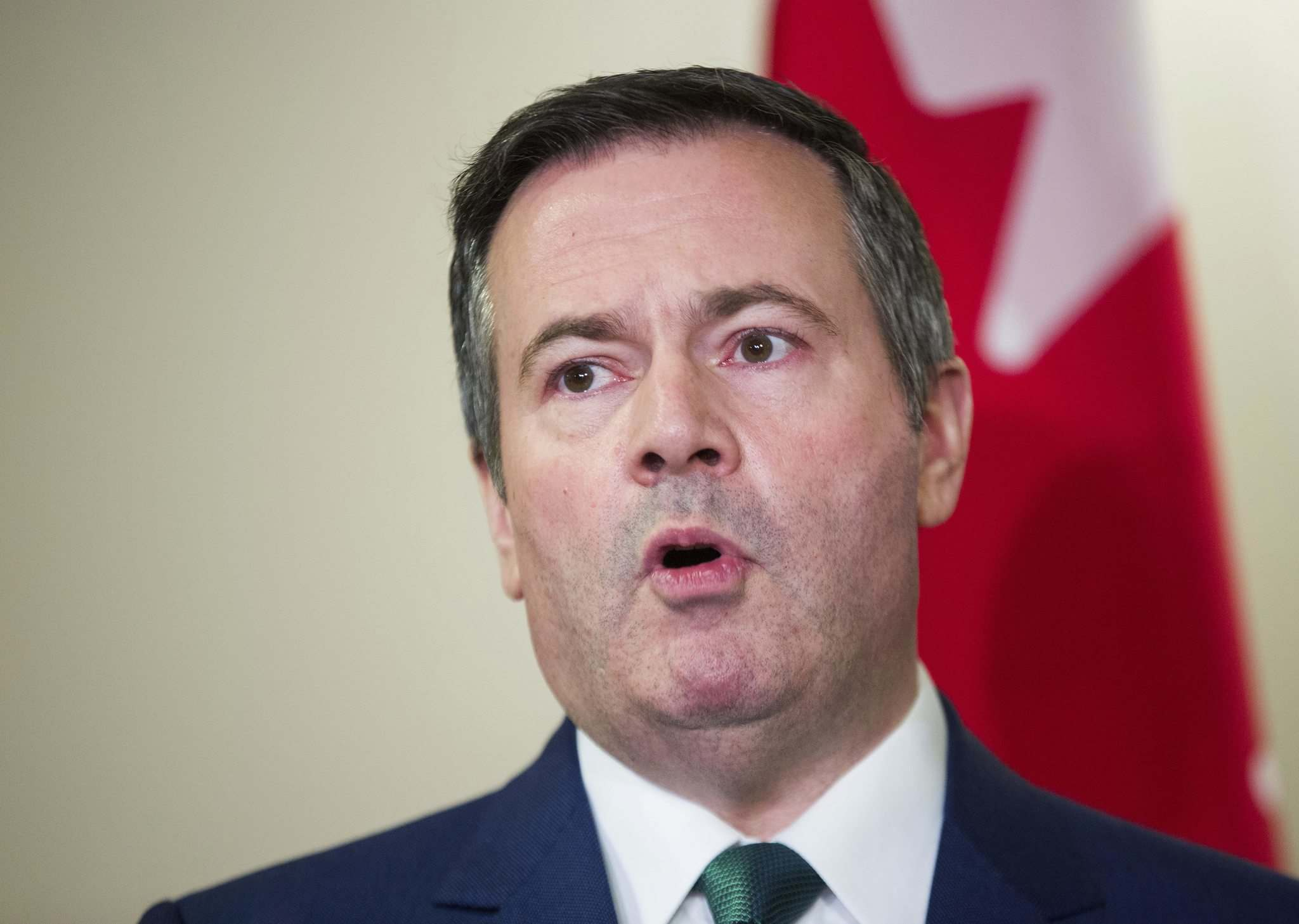 Alberta Premier Jason Kenney is waging political war against the federal carbon tax and against anyone who gets in the way of oil production and pipelines. (Todd Korol / The Canadian Press Files)