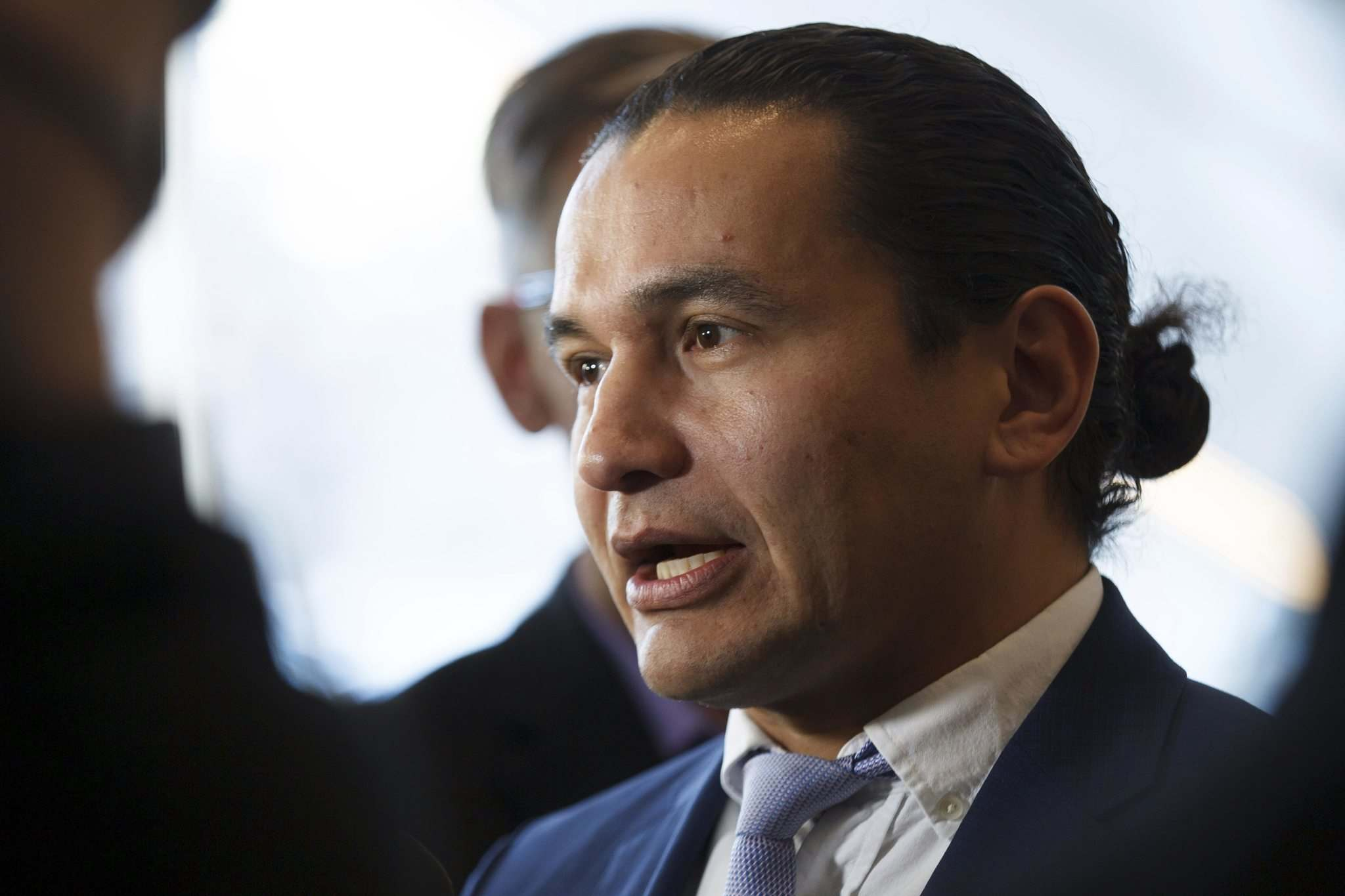 MIKE DEAL / WINNIPEG FREE PRESS FILES</p><p>NDP Leader Wab Kinew's call for a hot-breakfast program for Manitoba schools was quickly dismissed by the Pallister government.</p>