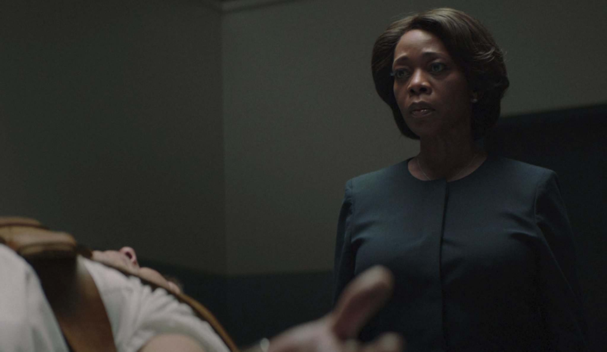 Alfre Woodard plays a prison warden dealing with the emotional toll of delivering capital punishment in Clemency. (Eric Branco / Sundance Institute