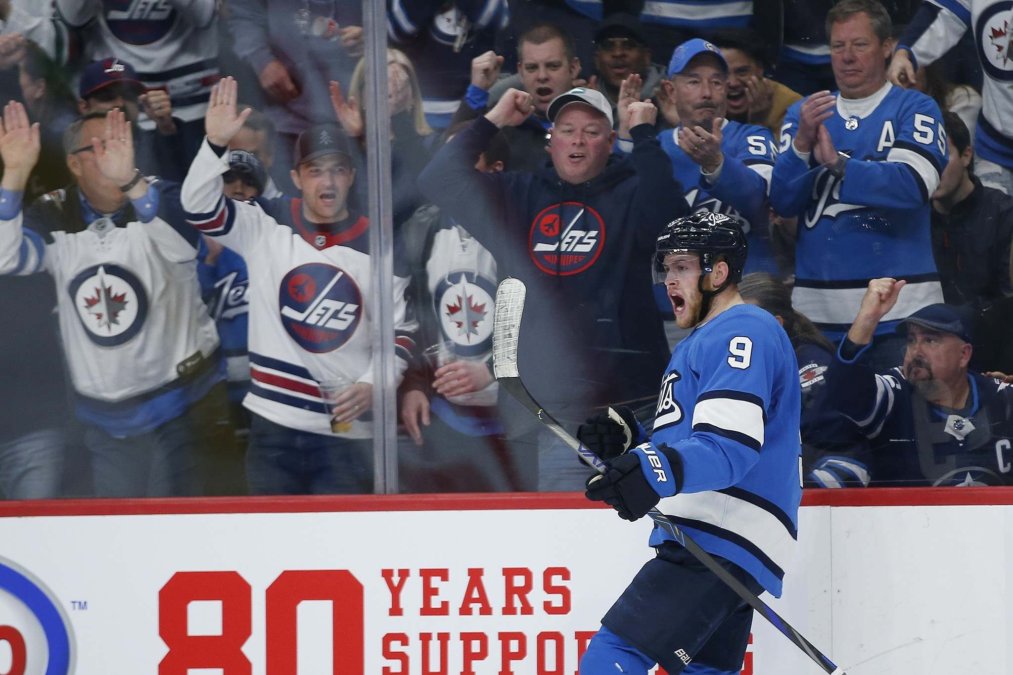"""THE CANADIAN PRESS/John Woods</p><p>Winnipeg Jets' Andrew Copp on his team's recent success: """"I come to the rink thinking that we're going to win every game.""""</p>"""