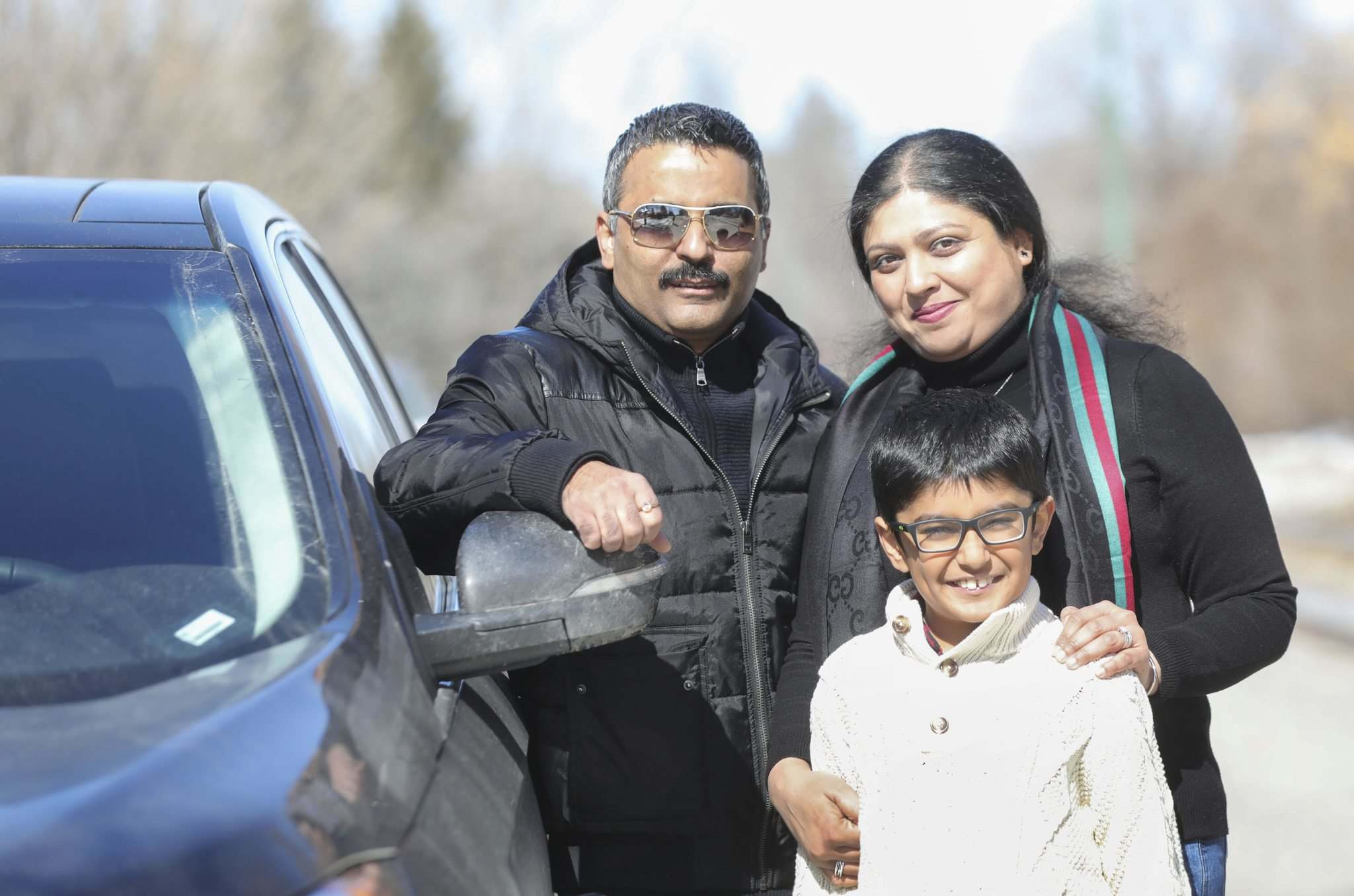 RUTH BONNEVILLE / WINNIPEG FREE PRESS</p><p>Rashmi Saxena (right), husband Ankur Aneja, and son Kabir, moved to Winnipeg in January. Saxena has established We Got This — Winnipeg, a Facebook group that helps connect people with assistance during the COVID-19 pandemic.</p>