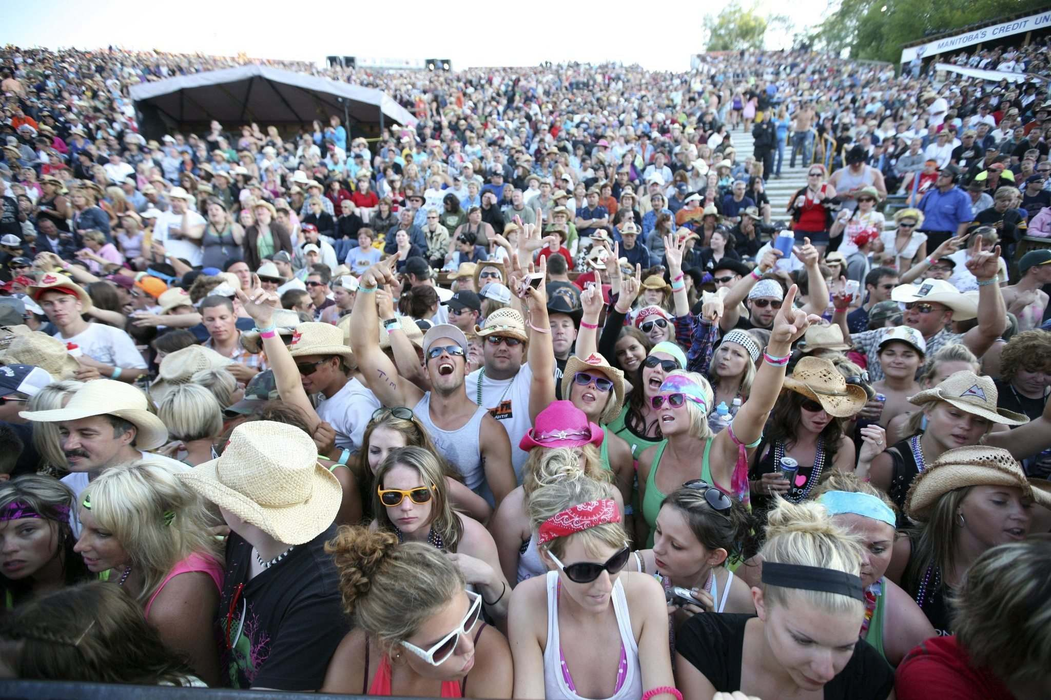 Dauphin's Countryfest is waiting for further instructions from governments. (Tim Smith / Brandon Sun files)