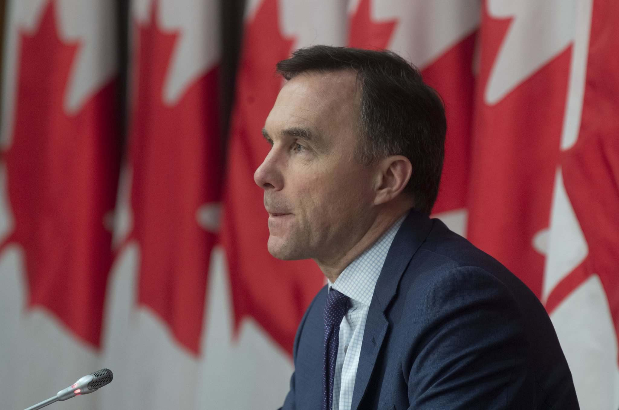 Adrian Wyld / The Canadian Press</p><p>Federal Minister of Finance Bill Morneau </p>