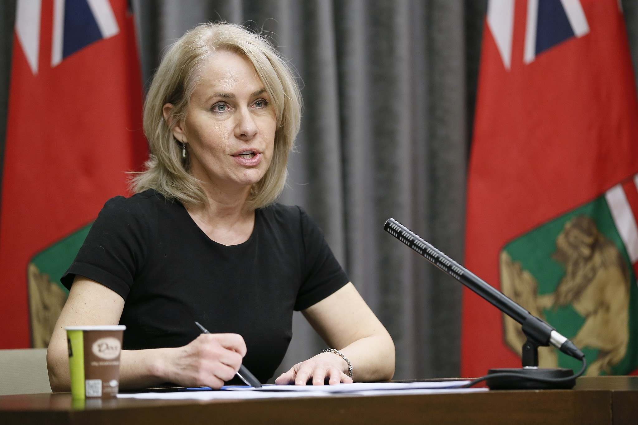 """The isolation centres are for those who may require some additional support as they self isolate,"" Chief Nursing Officer Lanette Siragusa said during the province's daily news conference on Saturday. (Daniel Crump / Winnipeg Free Press files)</p></p>"