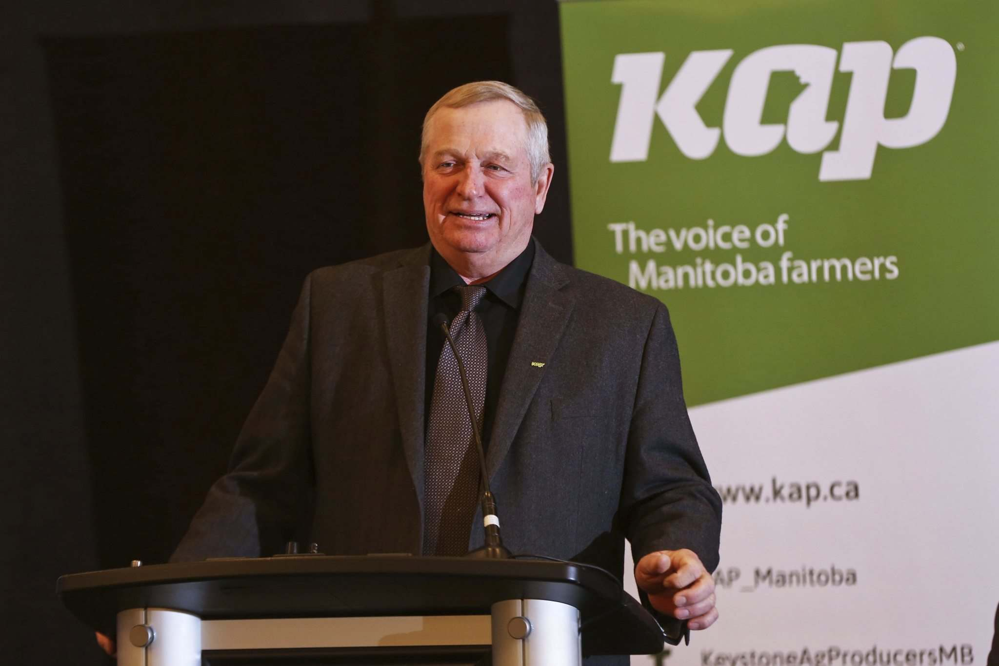 """""""The biggest thing that we are experiencing is the uncertainty,"""" Keystone Agricultural Producers president Bill Campbell said Thursday."""