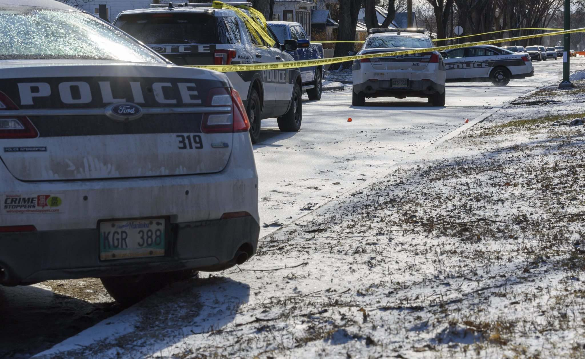 Jason Collins was shot and killed by police responding to a domestic disturbance on Anderson Avenue. (Jesse Boily / Winnipeg Free Press files)