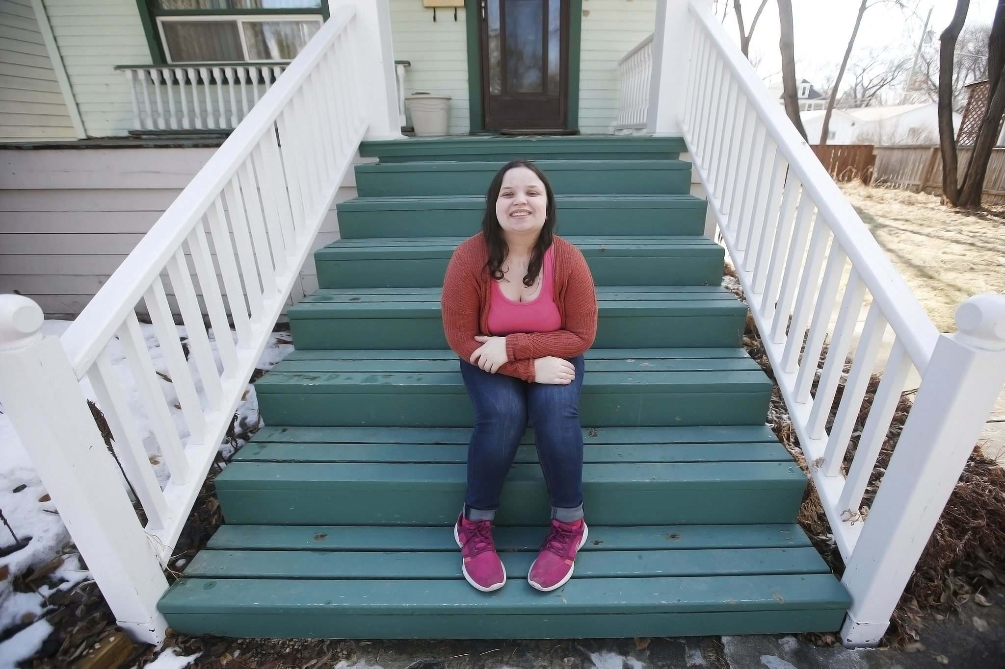 Grade 12 student Shira Hoult, 17, says she is sad when she thinks about never returning to the classrooms of Gray Academy as a student again.</p>
