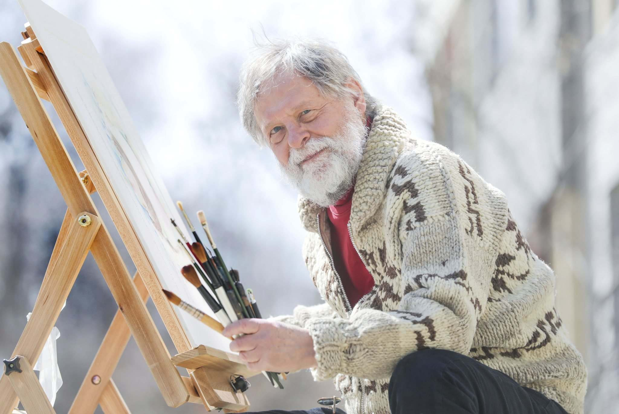 RUTH BONNEVILLE / WINNIPEG FREE PRESS</p><p>Artist, storyteller and theologian Bob Haverluck will share his unique perspective with some of the country's best doctoral students during his term as a mentor with the Pierre Elliott Trudeau Foundation.</p>