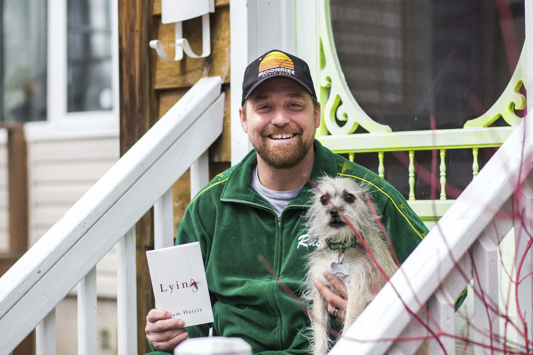 Rusty Matyas is joined by his dog, Leela, and a copy of Lying by Sam Harris — one of the top five things helping him through the pandemic.</p></p>