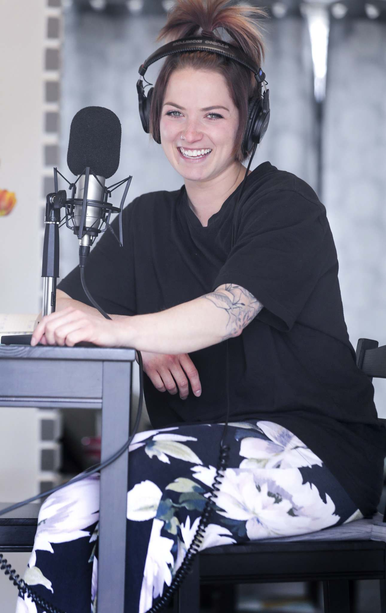 Randy Parker, the cohost of the morning show on QX104, spends most days in her pyjama pants and slippers because they're the most comfortable.</p>