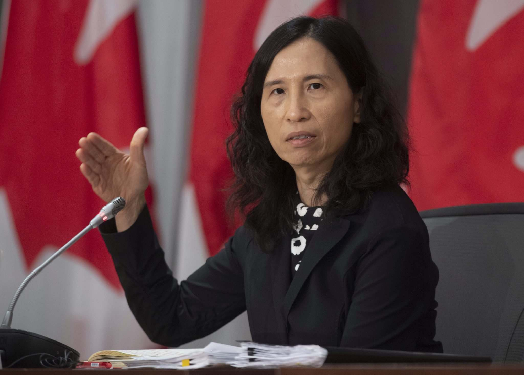 Adrian Wyld / The Canadian Press</p><p>Chief public health officer Dr. Theresa Tam was the target of an ill-informed attack by Conservative MP Derek Sloan, who is running for the party's leadership.</p>