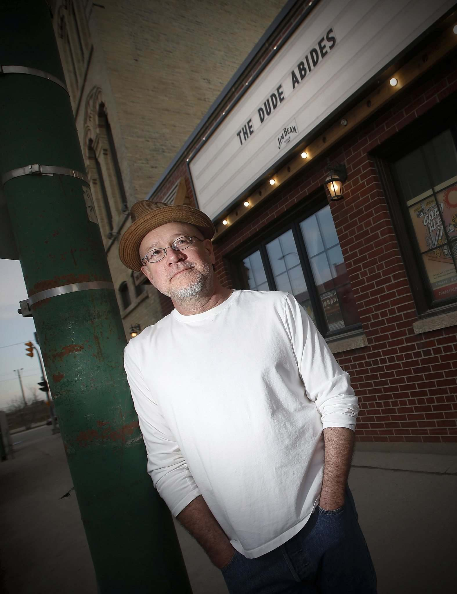 JOHN WOODS / WINNIPEG FREE PRESS</p><p>John Scoles, owner of Times Change(d), thinks it will be fall at the earliest before he can reopen.</p>