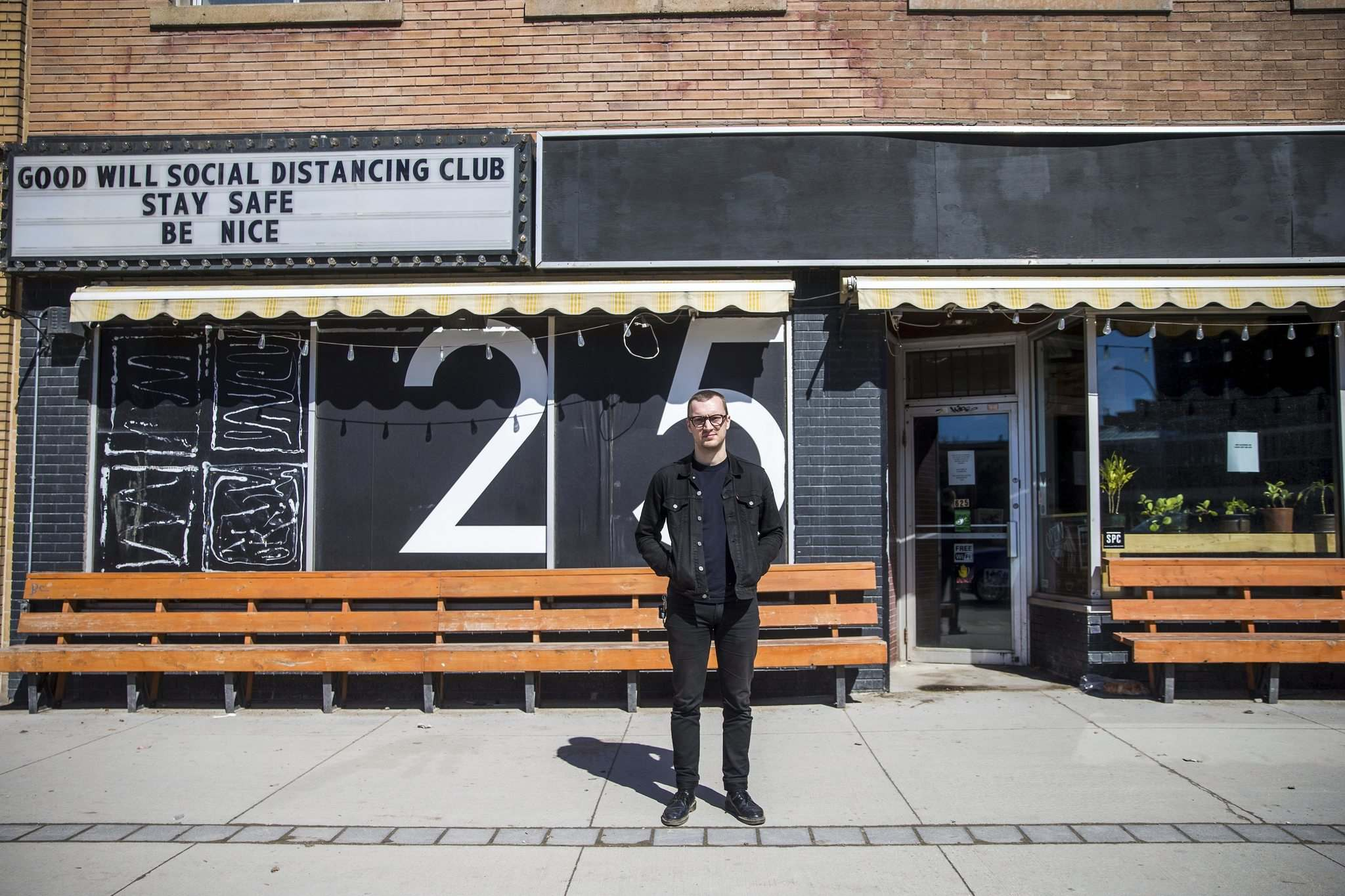 MIKAELA MACKENZIE / WINNIPEG FREE PRESS</p><p>David Schellenberg, one of the Good Will Social Club's co-owners, is enormously grateful for the $60,000 raised in a recent GoFundMe campaign for the shuttered club.</p>