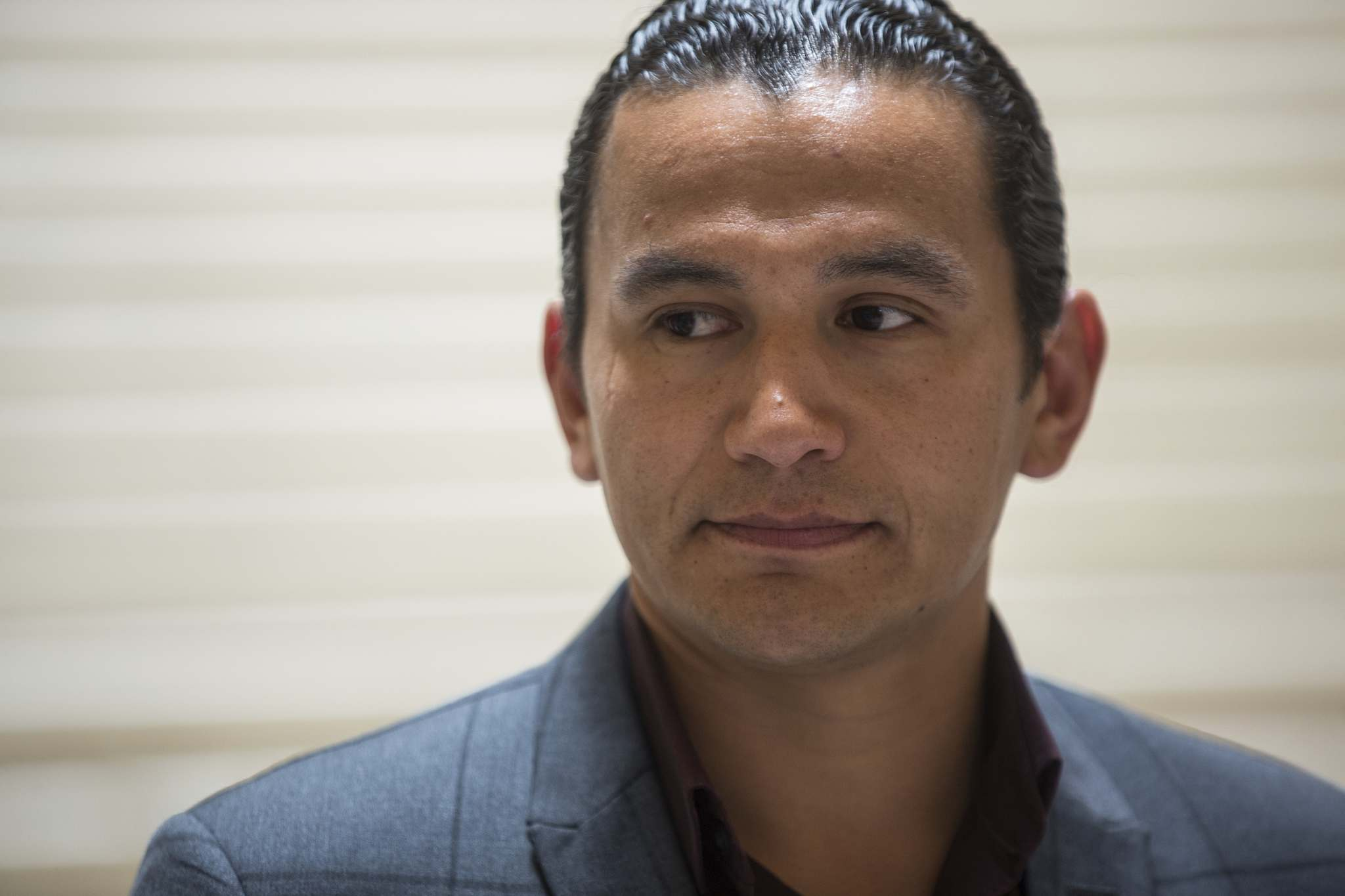 MIKE DEAL / FREE PRESS FILES</p><p>Raising the minimum wage is the first policy announcement for Fort Rouge MLA Wab Kinew.</p>
