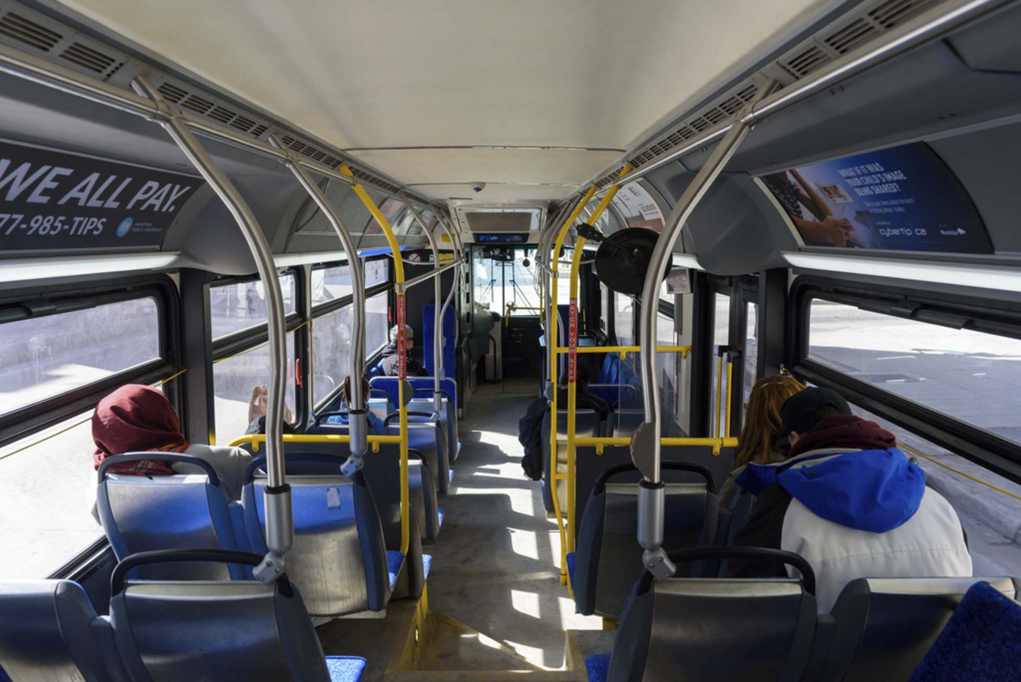 JESSE BOILY / WINNIPEG FREE PRESS</p><p>A recent poll suggests Manitobans are still uncomfortable taking public transit.</p>