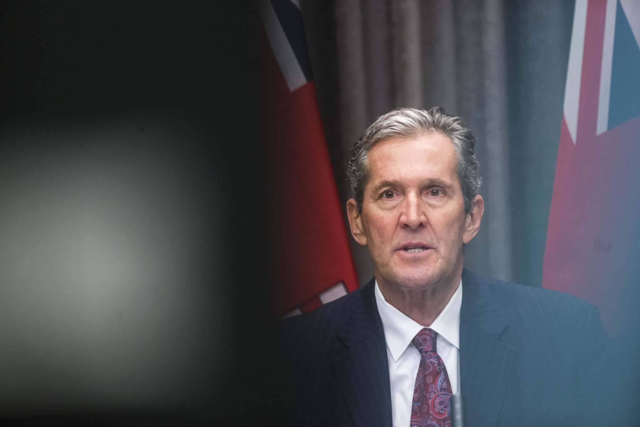 MIKAELA MACKENZIE / WINNIPEG FREE PRESS</p></p><p>Premier Brian Pallister's announcement that he plans to spend an extra $500 million on infrastructure projects over the next two years was designed to give the appearance his government is doing something to help kick-start the pandemic-weakened economy.</p>
