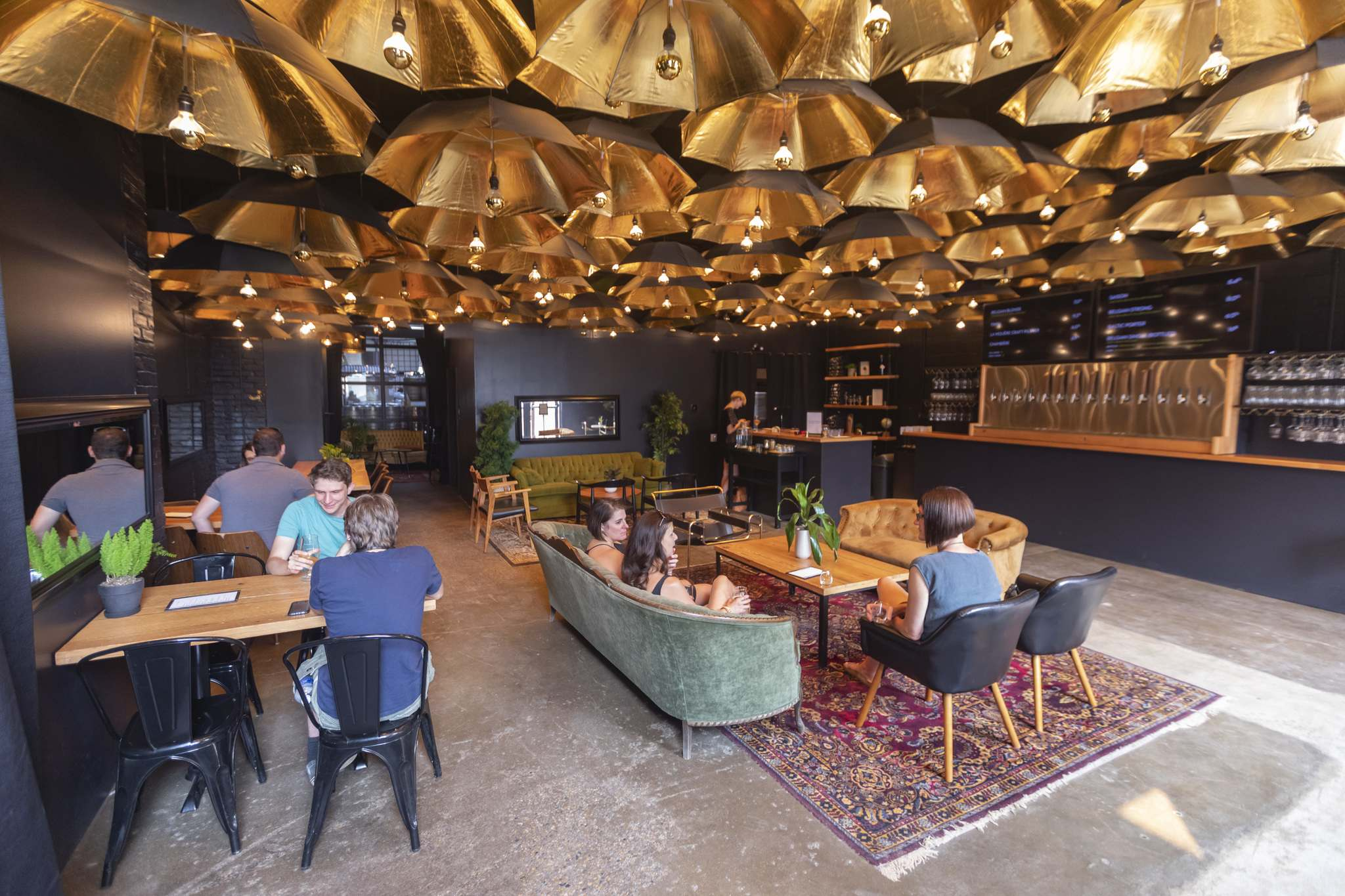 Oh, to be out and about again, beneath eminently Instagrammable ceilings like that of Nonsuch Brewing Co.</p>