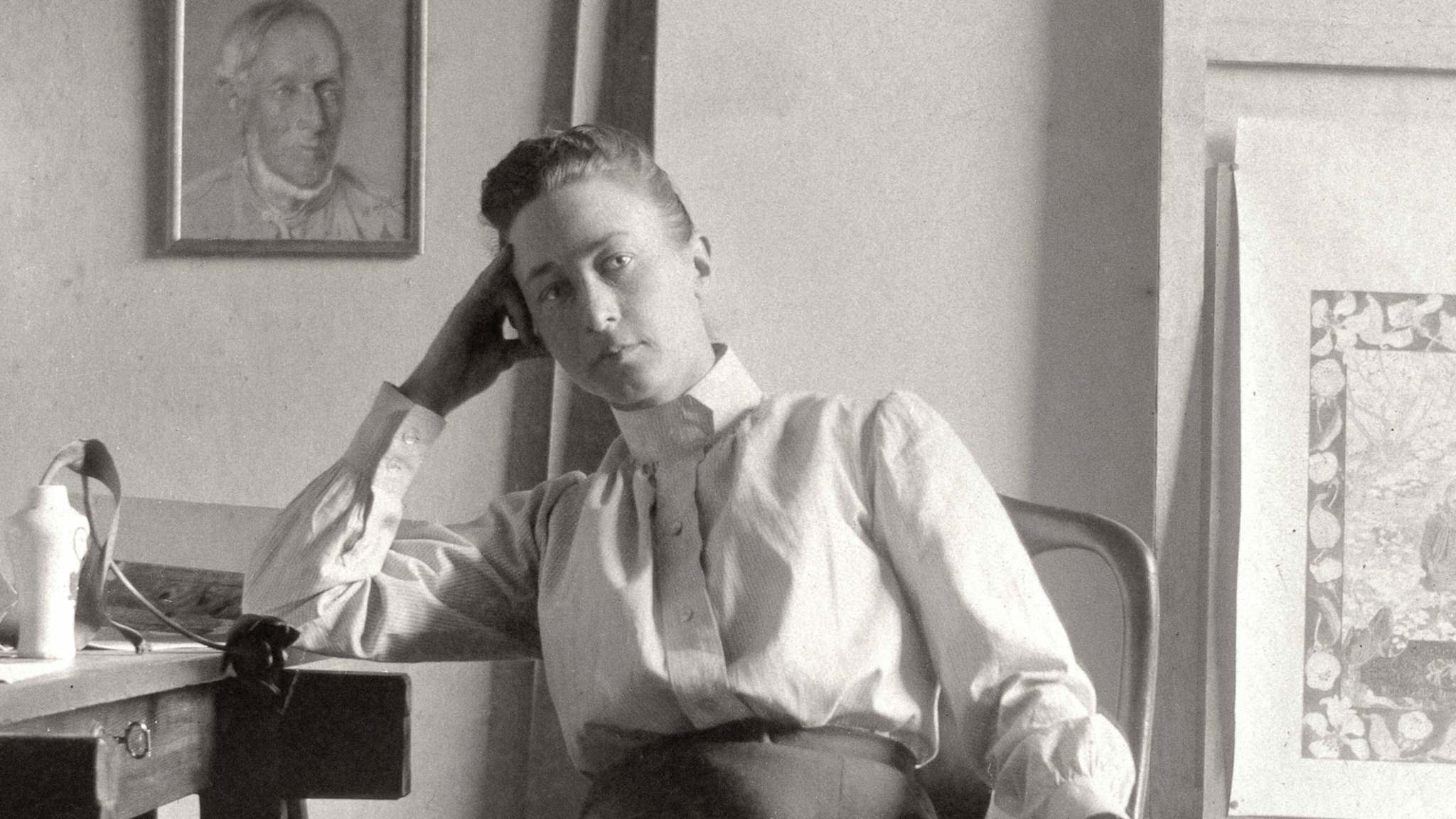 SUPPLIED</p><p>Swedish artist Hilma af Klint, the female who invented modern abstract art as we know it.</p>