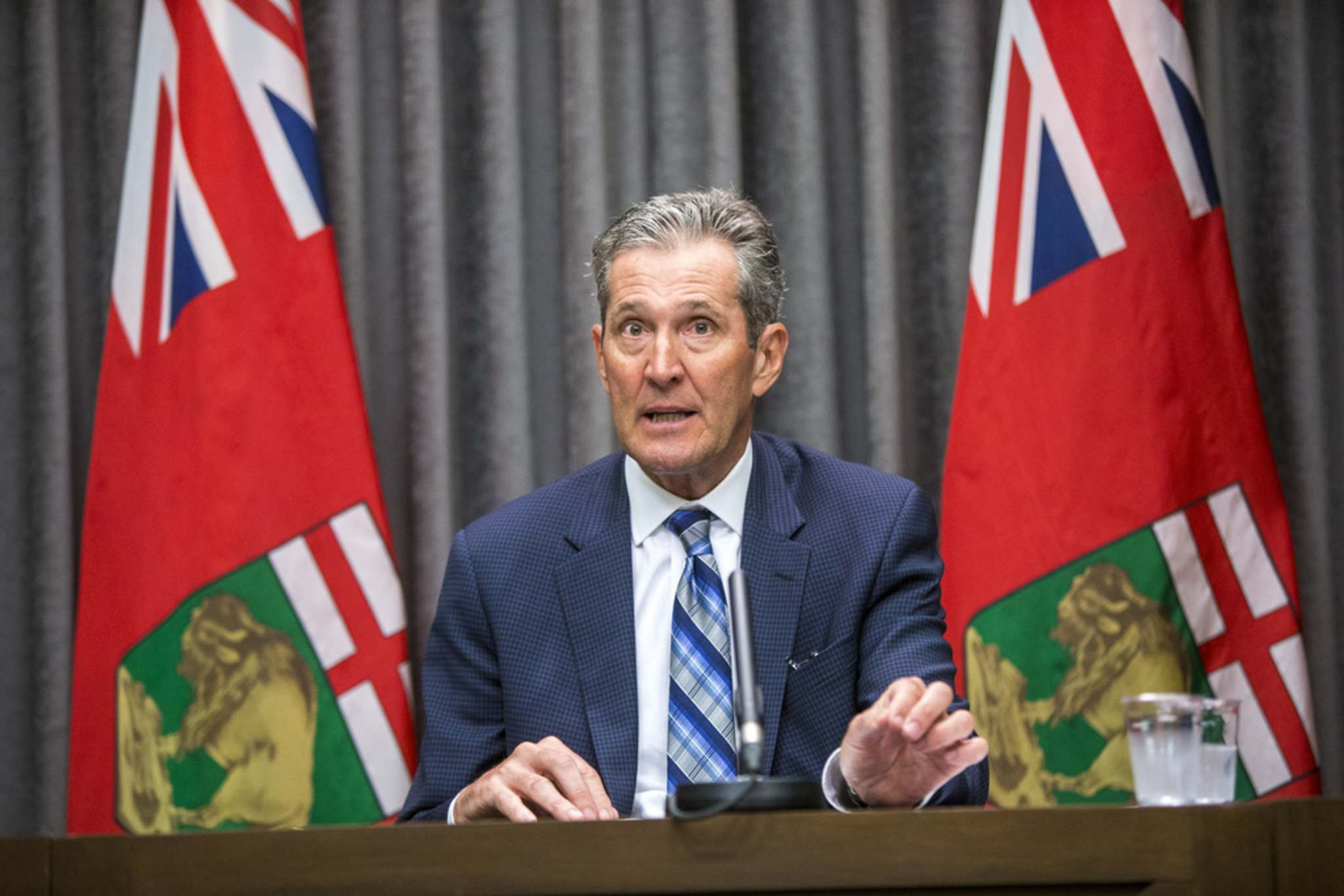 MIKAELA MACKENZIE / WINNIPEG FREE PRESS</p><p>Premier Brian Pallister has made clear his government's intentions of revamping higher education to better prepare students for jobs since he was re-elected in September.</p>