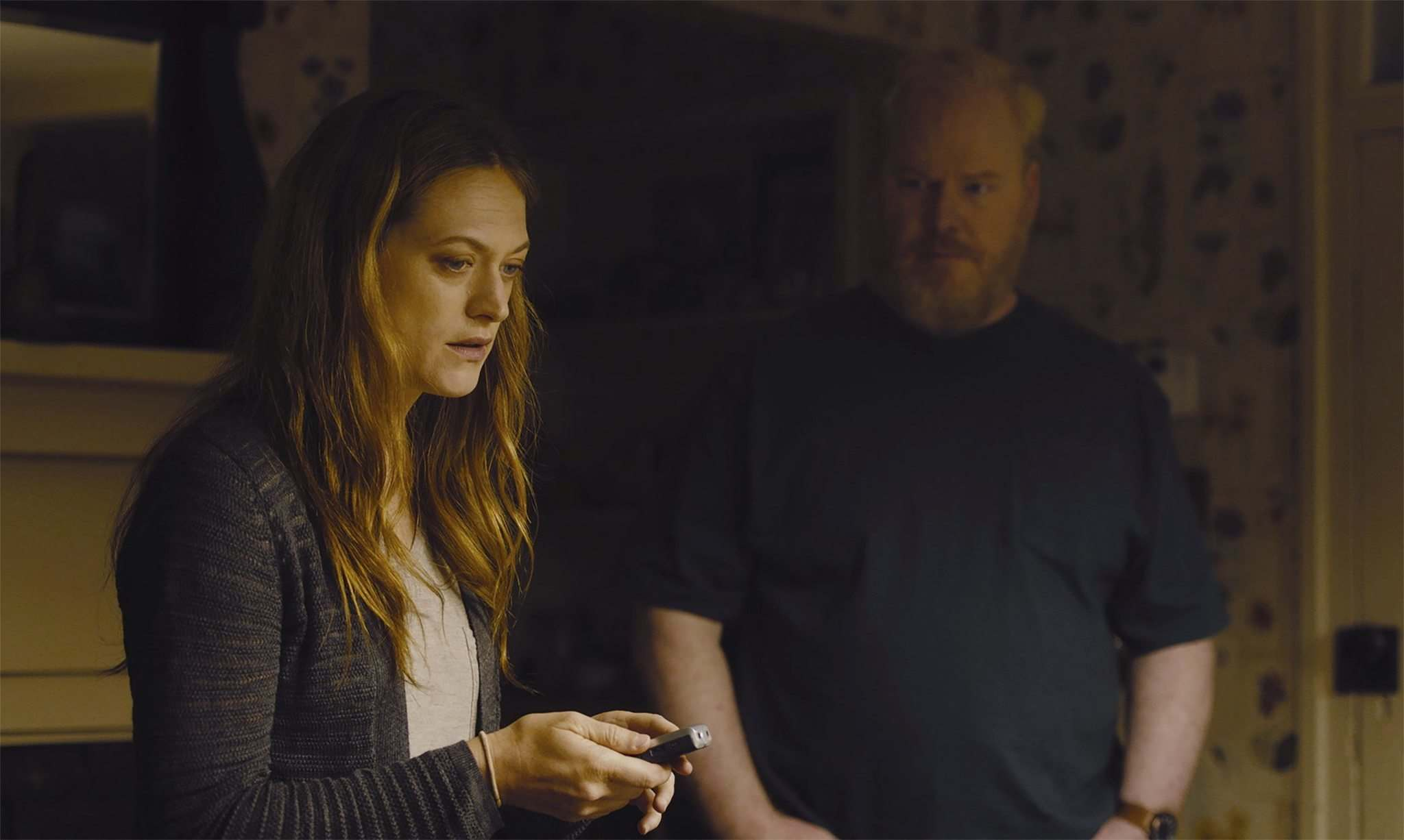 Grasshopper Films</p><p>Marin Ireland, left, and Jim Gaffigan star in Light From Light, streaming on Cinematheque at Home until June 12.</p>