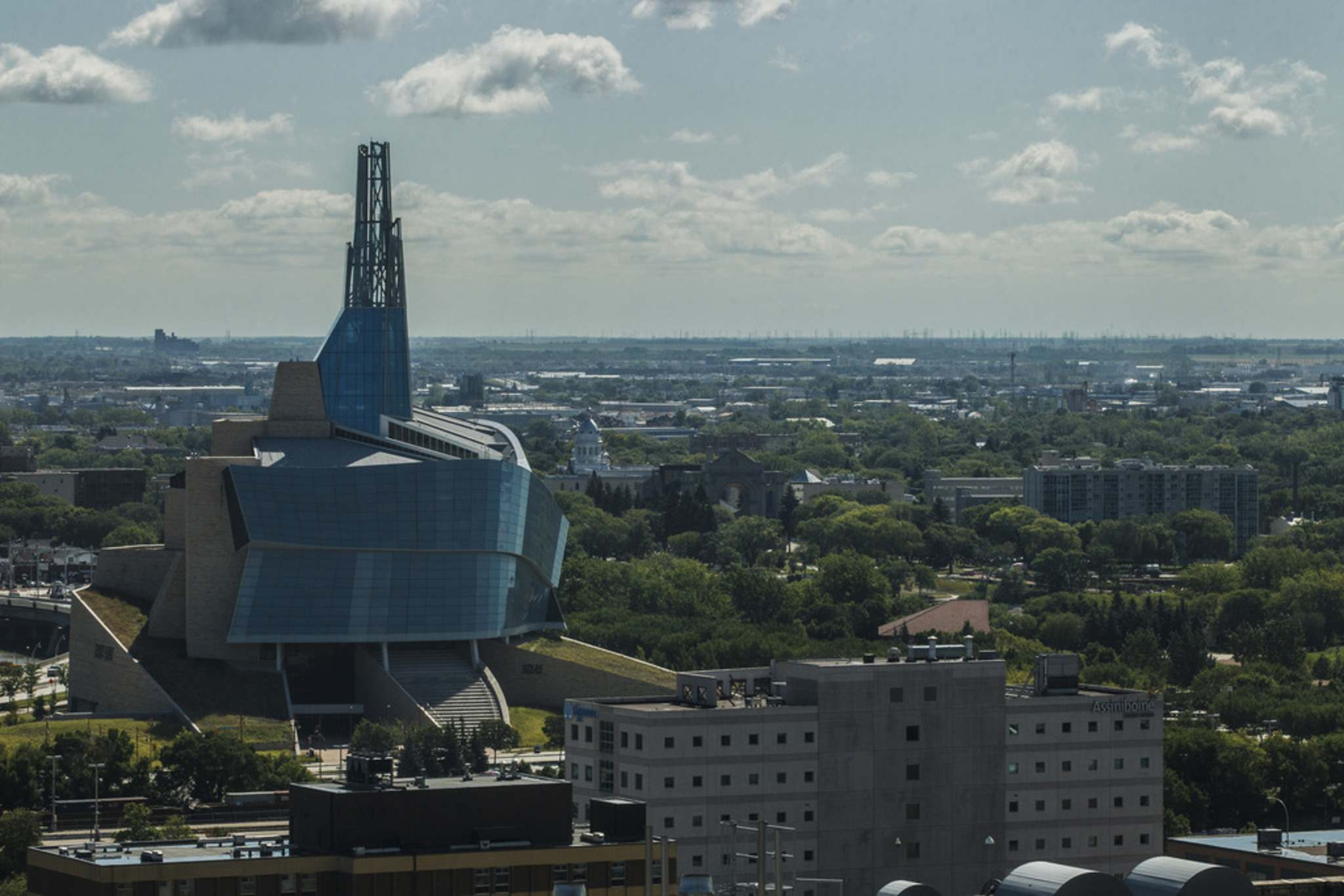 MIKE DEAL / WINNIPEG FREE PRESS FILES</p><p>The union representing 160 CMHR staff says it's been filing grievances since 2018.</p>