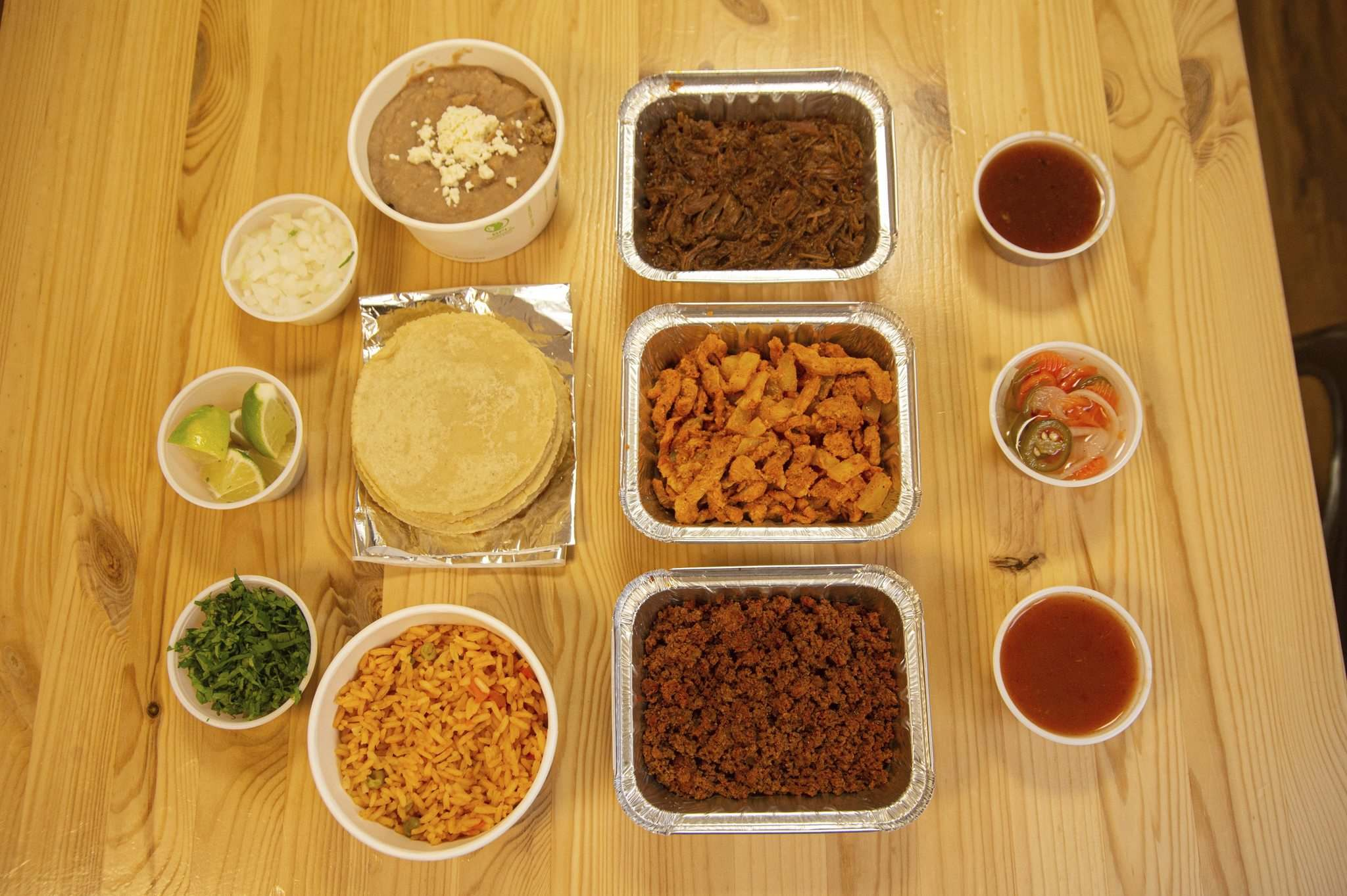 """Mike Sudoma / Winnipeg Free Press</p><p>BMC Market's """"Family Pack"""" is a make-your-own-taco kit that can be enjoyed at home.</p>"""