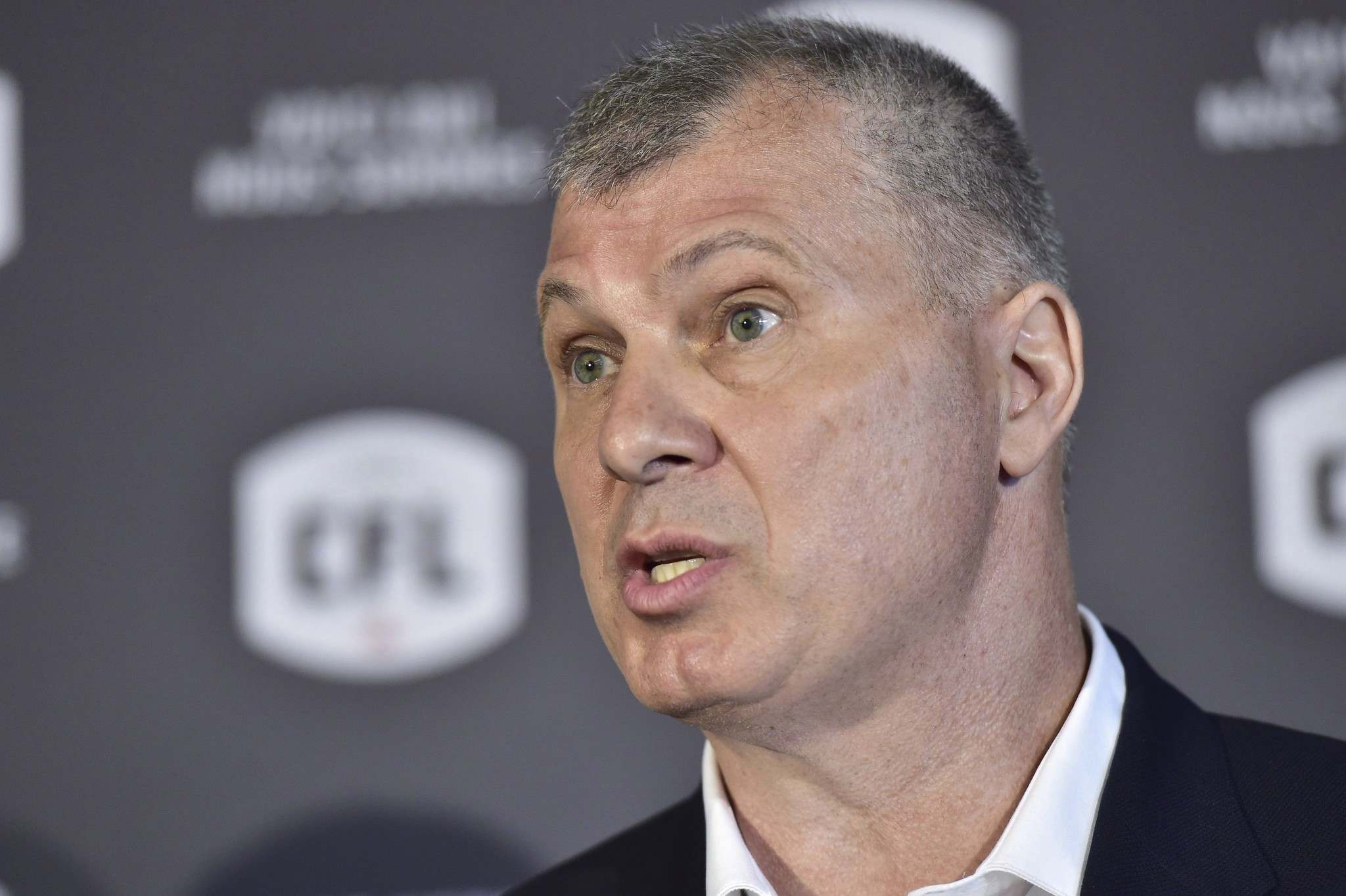 CFL Commissioner Randy Ambrosie has suggested the survival of the league could be in jeopardy if games can't be played this year and the federal government doesn't provide a financial bailout of up to $150 million. (Frank Gunn / The Canadian Press files)