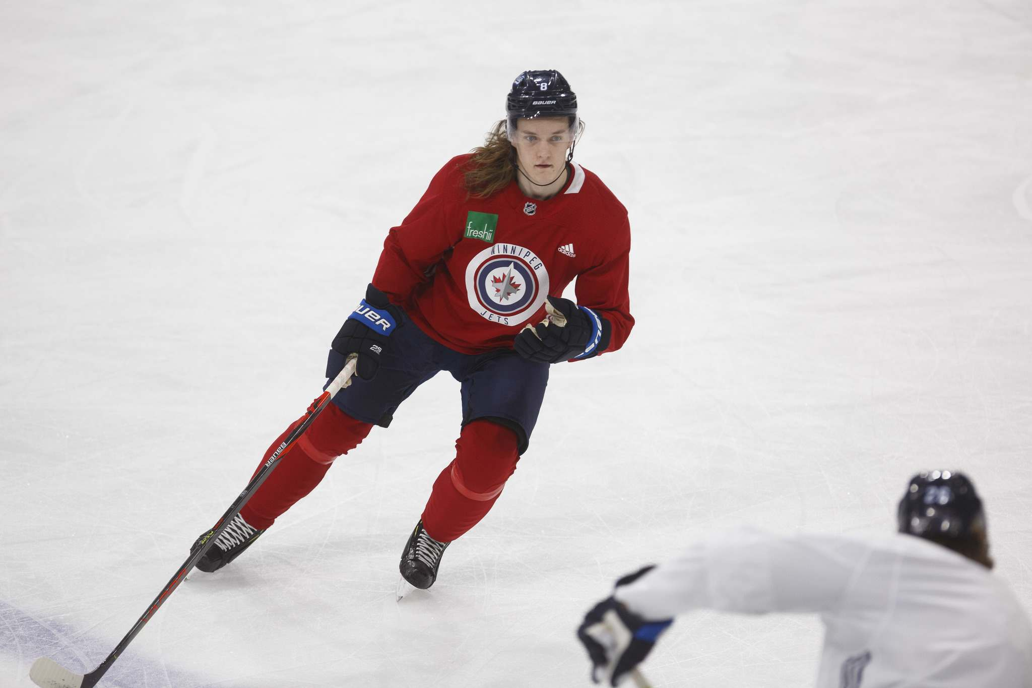 Niku finished the season with five assists in 17 games with the Jets, and three goals and 11 assists in 18 games with the Moose. (Mike Deal / Winnipeg Free Press files)
