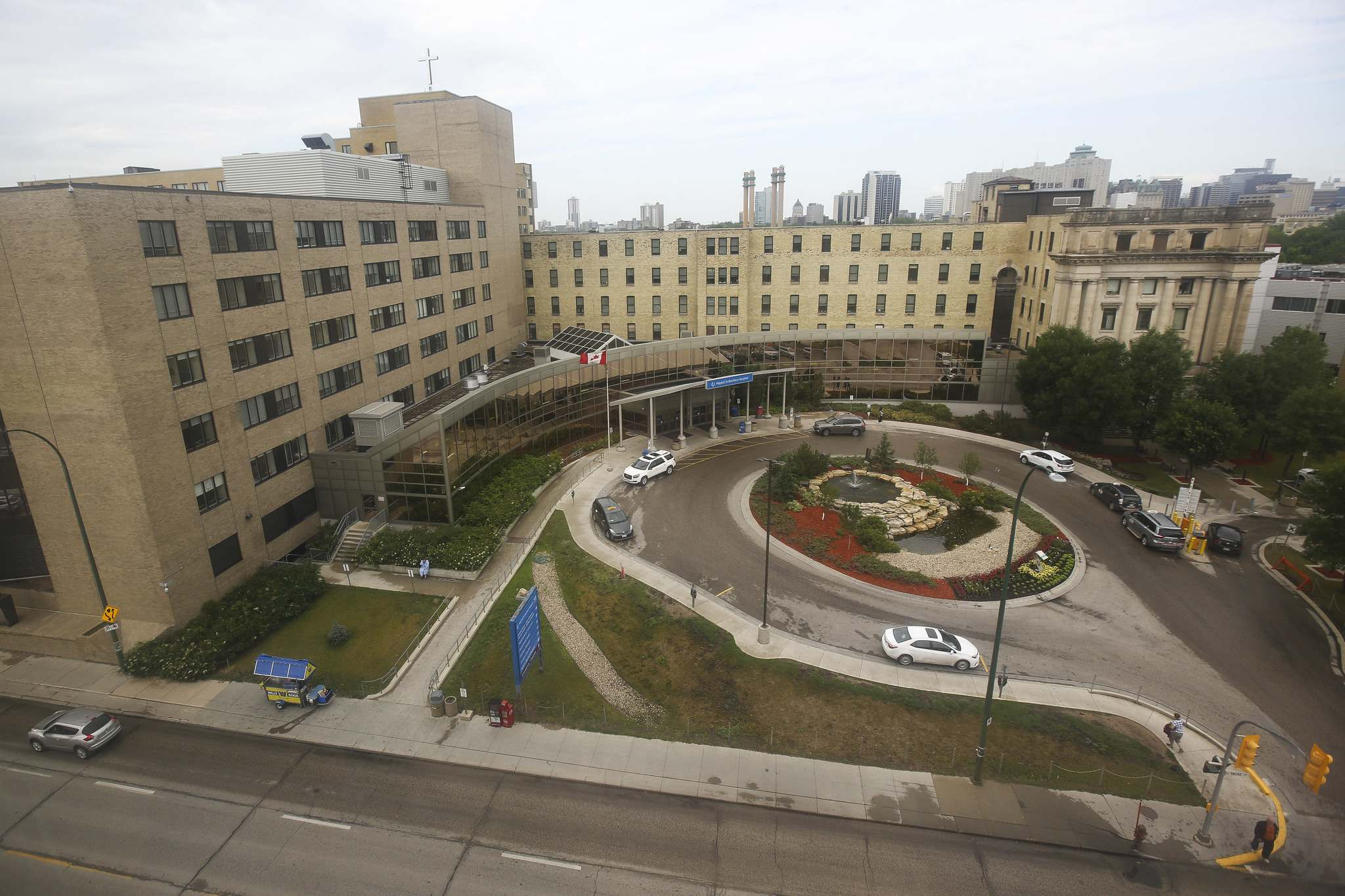 "With Quebec ""an epicentre of COVID"" in Canada, board chair Tom Carson said, the CEO is unable to return to St. Boniface Hospital ""without major risk issues."""