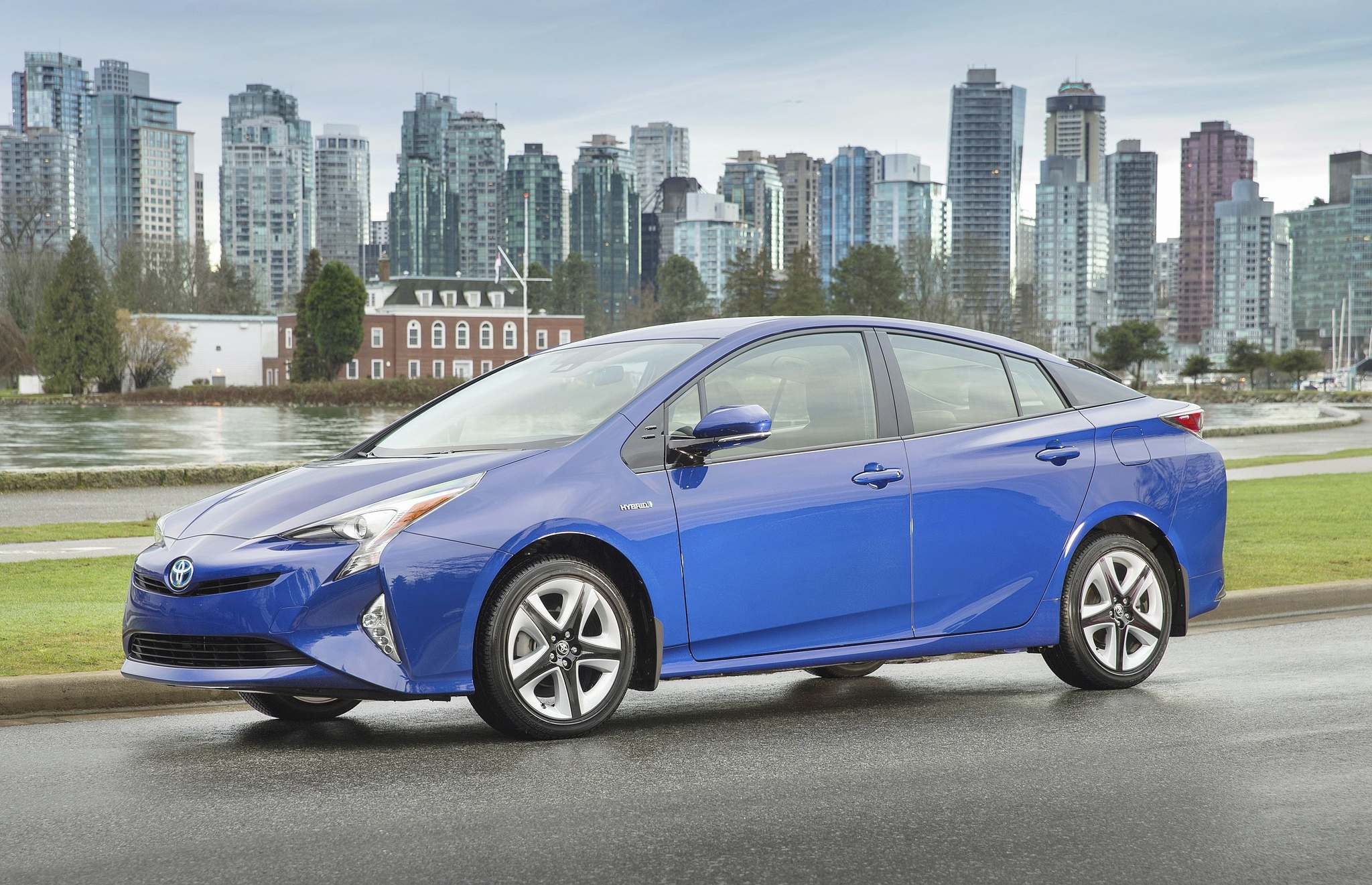 TOYOTASeen here in Touring trim, pricing for the 2016 Toyota Prius starts at $25,995.