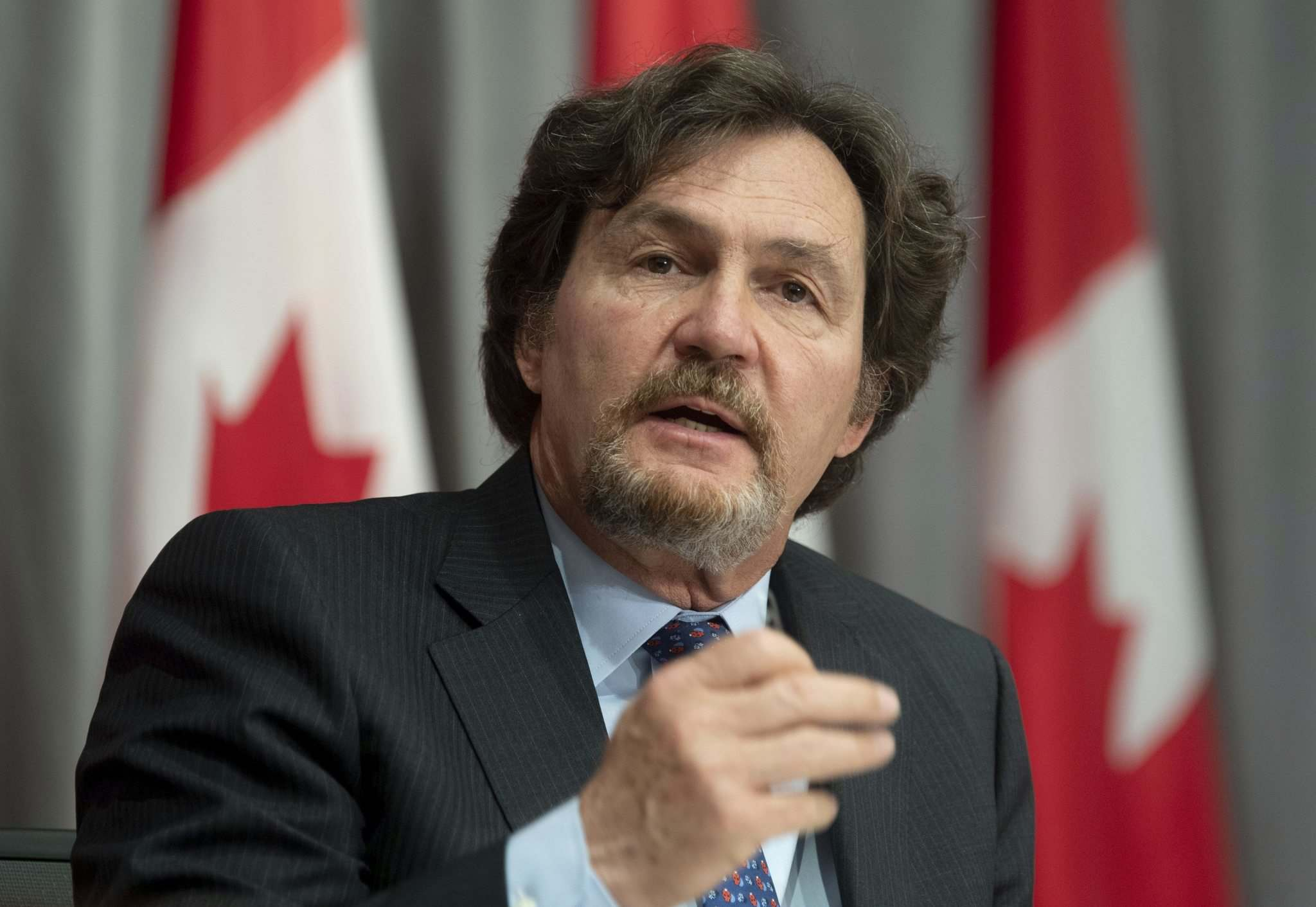 Adrian Wyld / The Canadian Press</p><p>Supreme Court of Canada Chief Justice Richard Wagner responds to a question during his annual news conference on June 18 in Ottawa.</p>