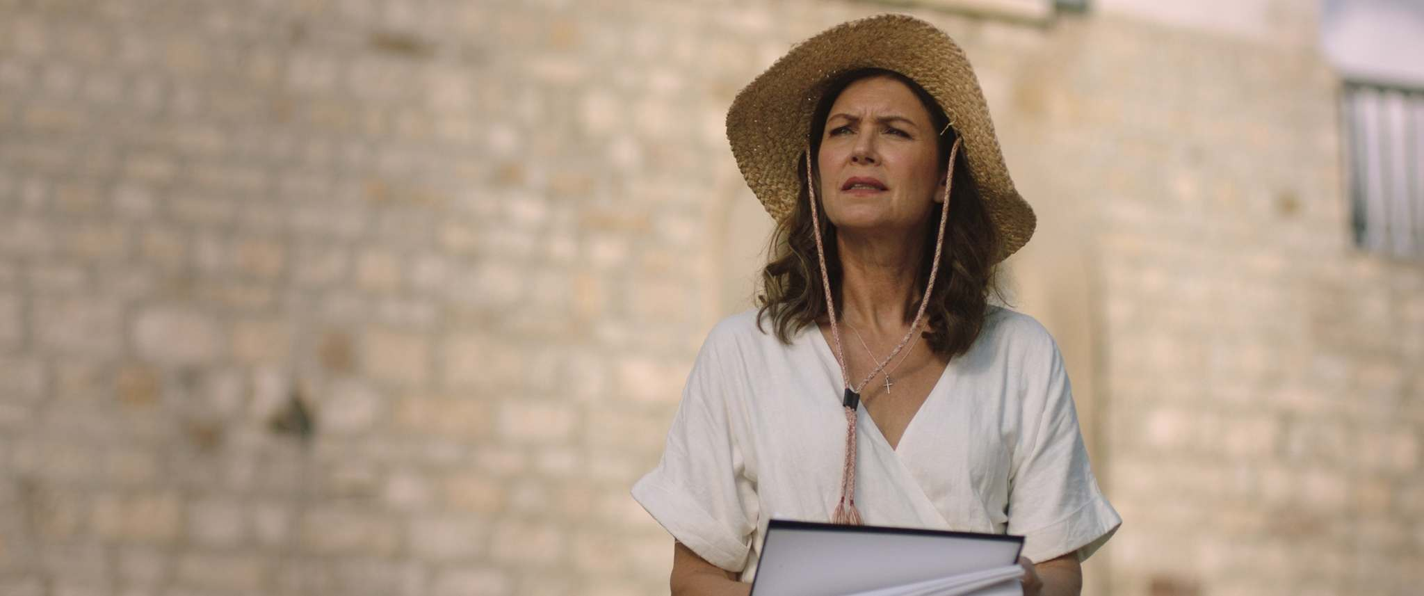Mythic Productions</p><p>Wendy Crewson seized the opportunity to shoot a film in a picturesque mountaintop town in southern Italy.</p></p>