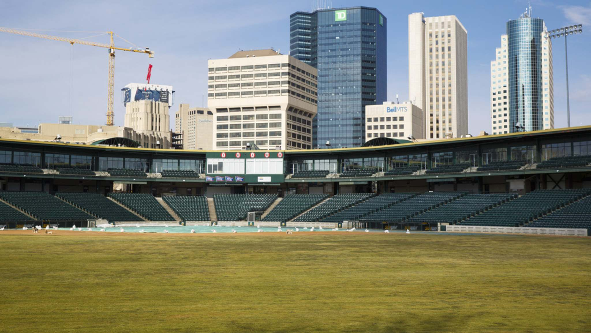 MIKE DEAL / WINNIPEG FREE PRESS FILES</p><p>On Monday, city council's property and development committee cast a tied 2-2 vote to seek financial statements from the Winnipeg Goldeyes before proceeding with a new 15-year lease agreement for Shaw Park, home of the independent league baseball team.</p>
