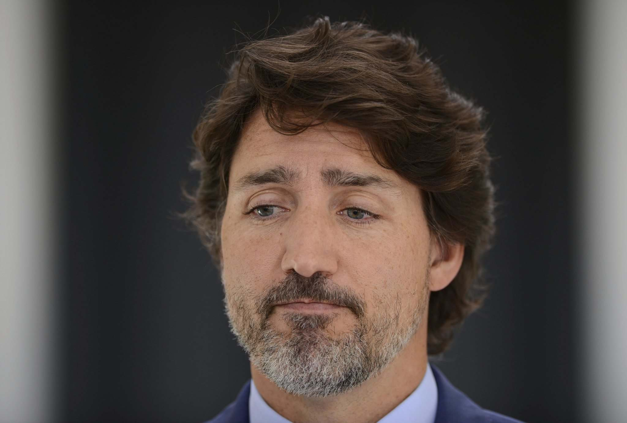 """Sean Kilpatrick / The Canadian Press</p><p>Prime Minister Justin Trudeau used his Monday press conference to apologize for his WE Charity """"mistake.""""</p>"""