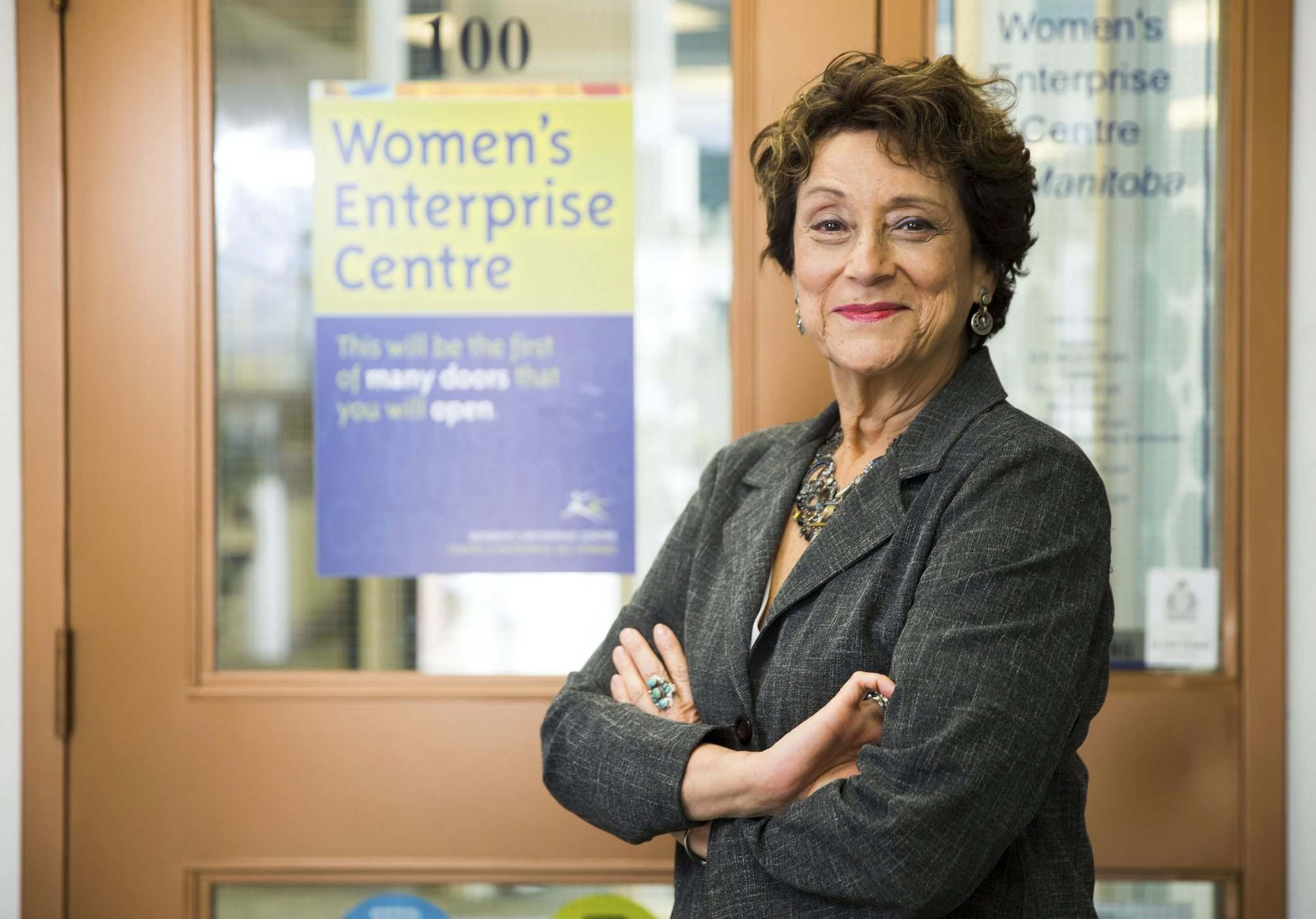 MIKAELA MACKENZIE / WINNIPEG FREE PRESS FILES</p><p>Sandra Altner, CEO of the Women's Enterprise Centre of Manitoba, says the new loans will fill a gap in the government's economic recovery programs.</p>